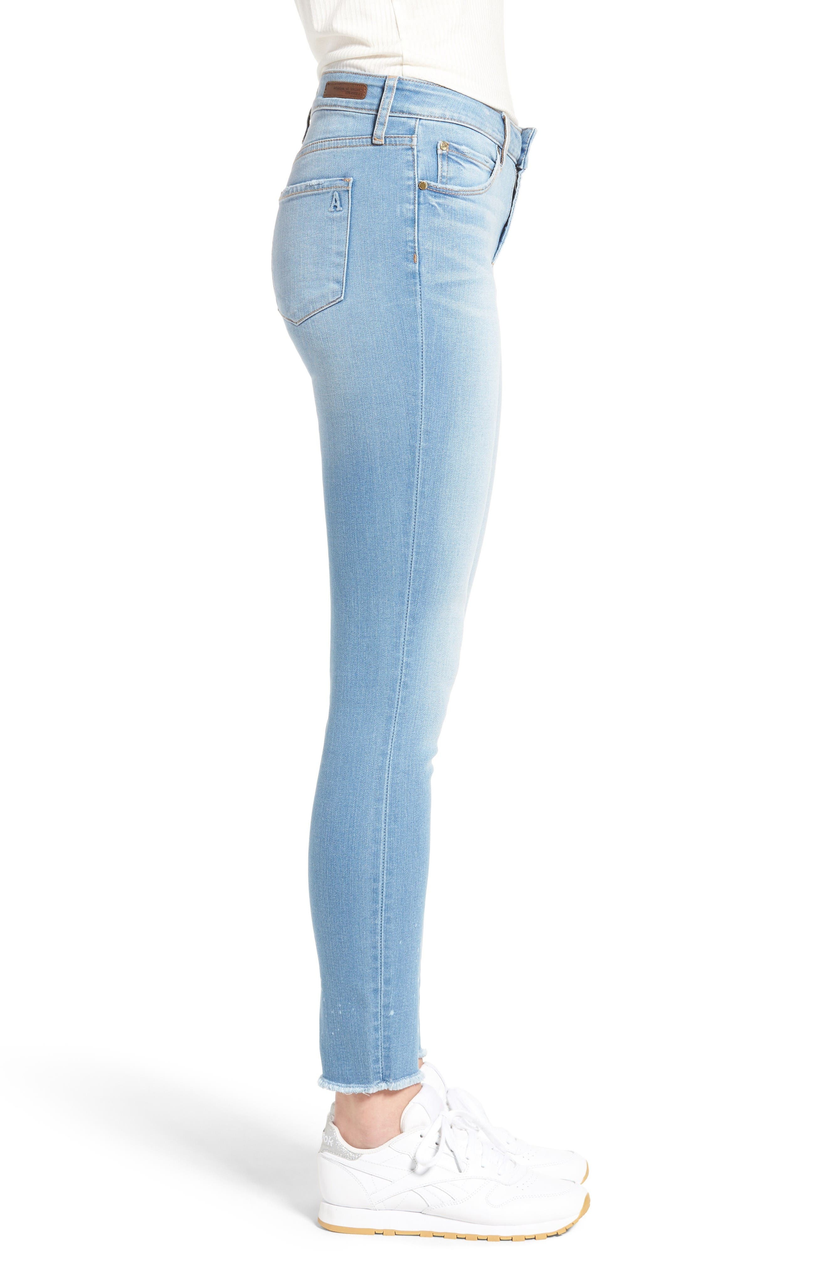 Alternate Image 3  - Articles of Society Sarah Skinny Jeans (Bay)