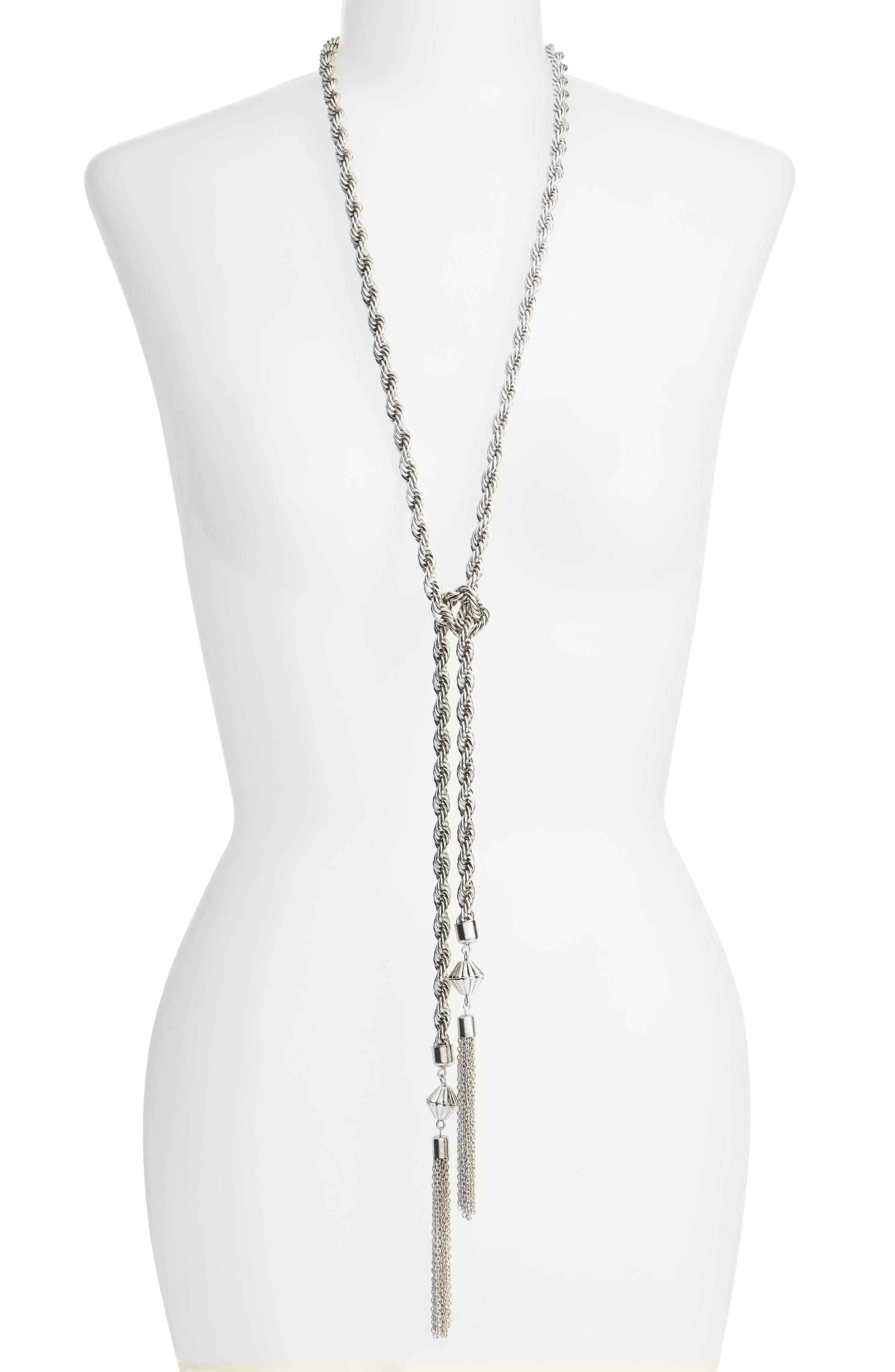 Main Image - Karine Sultan Tassel Necklace