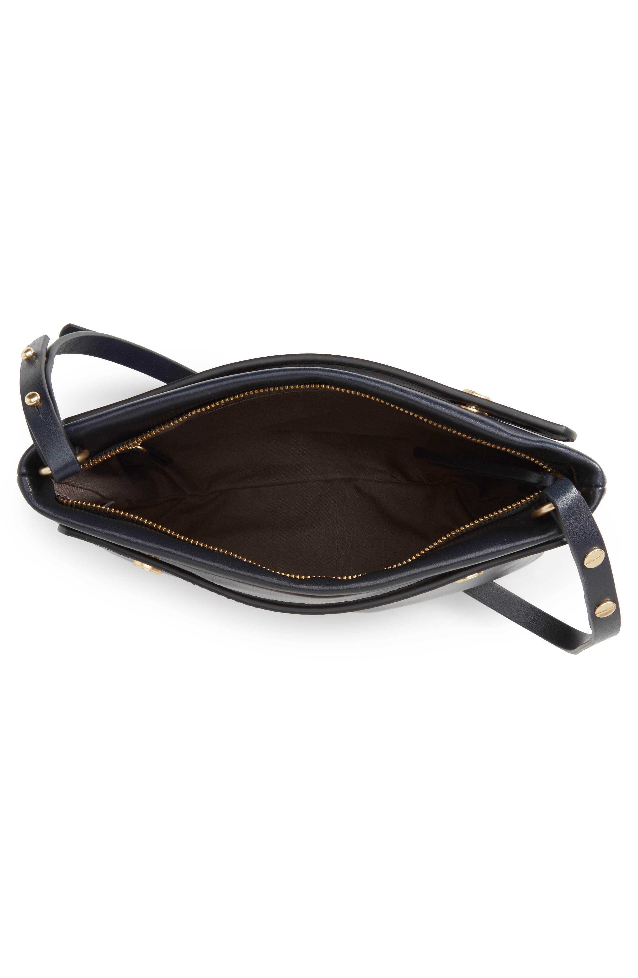 Alternate Image 4  - Skagen Mini Mikkeline Leather Satchel