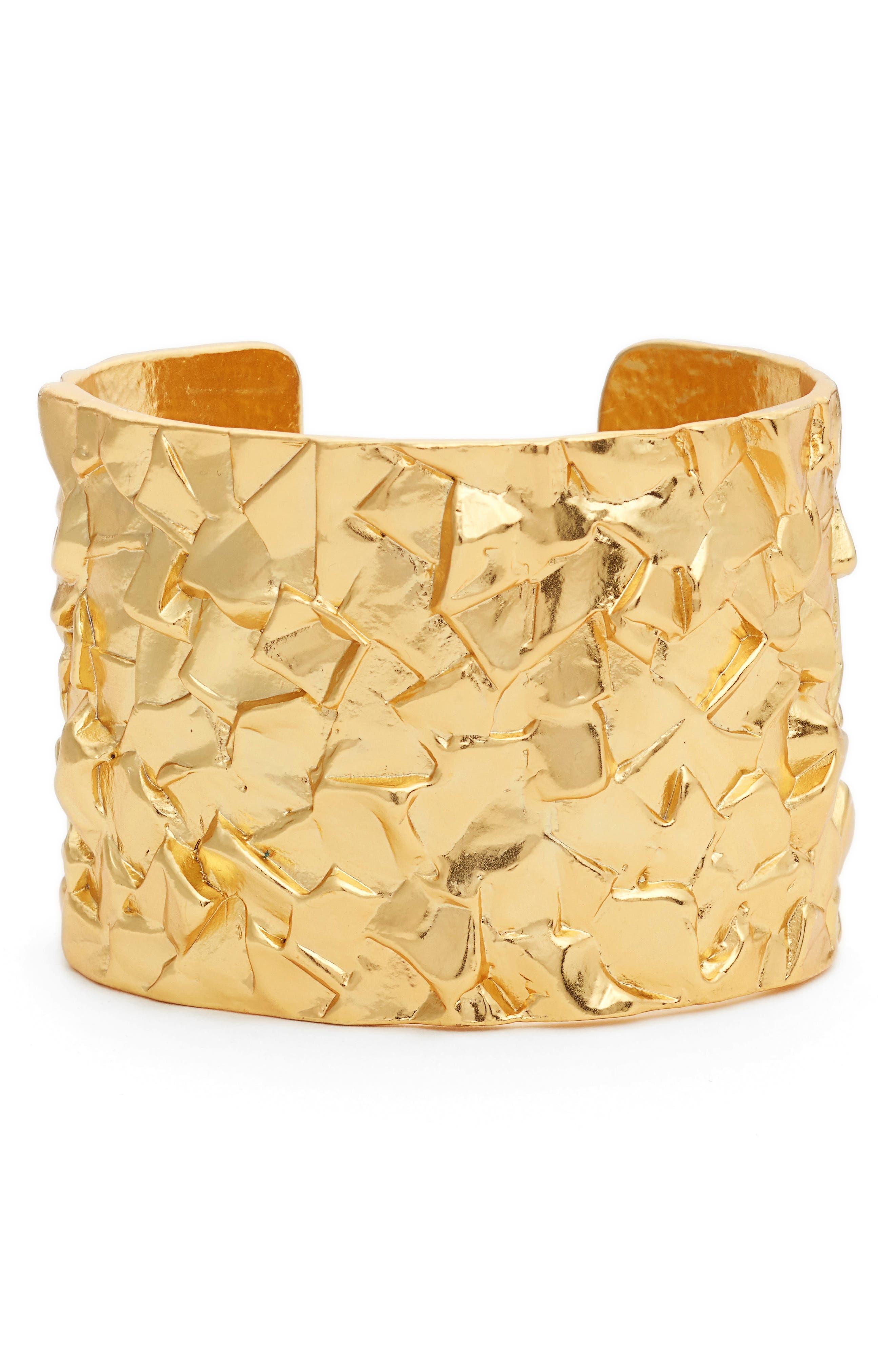 Rocky Cuff,                         Main,                         color, Gold