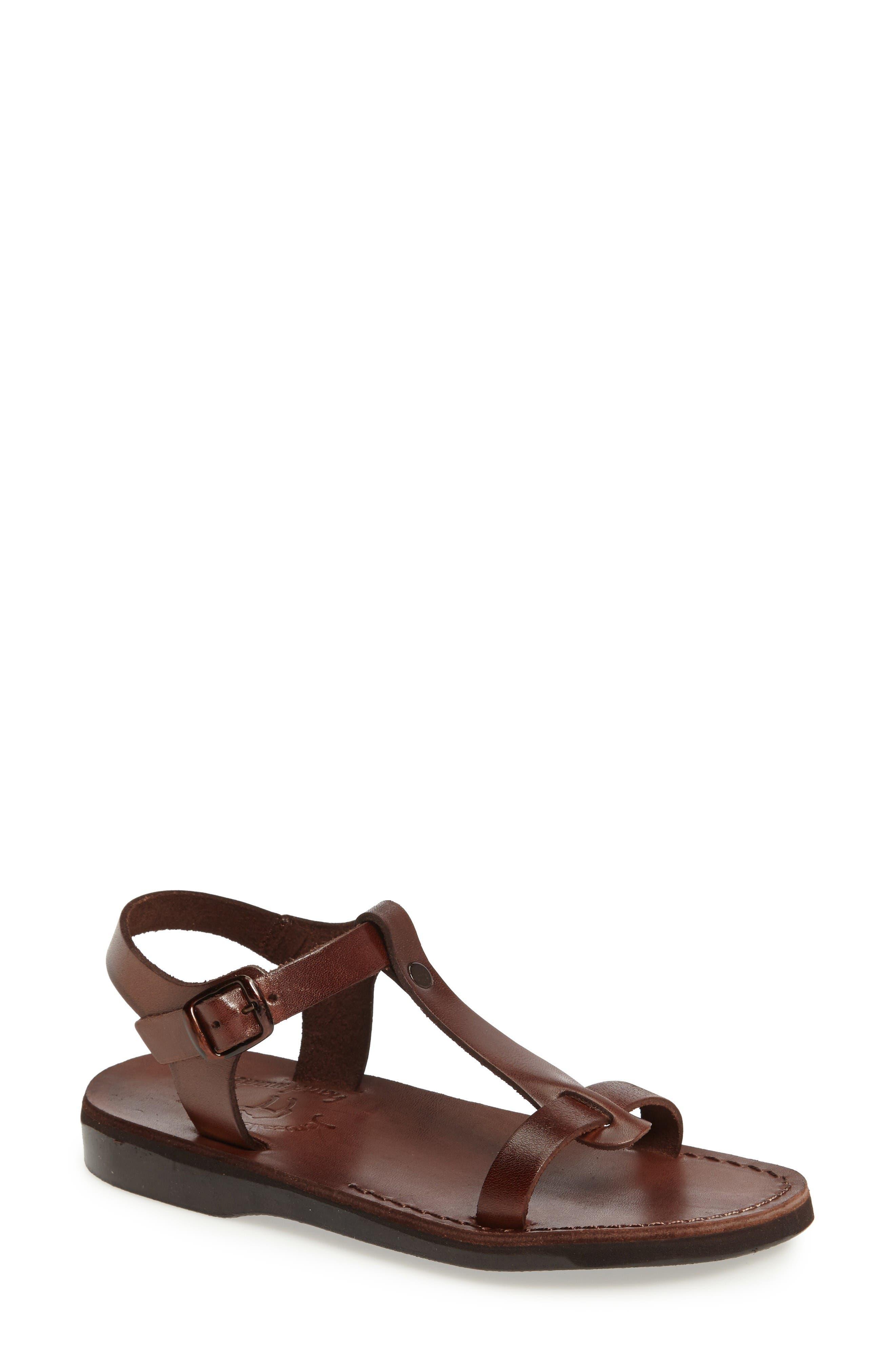 Jerusalem Sandals Bathsheba T-Strap Sandal (Women)