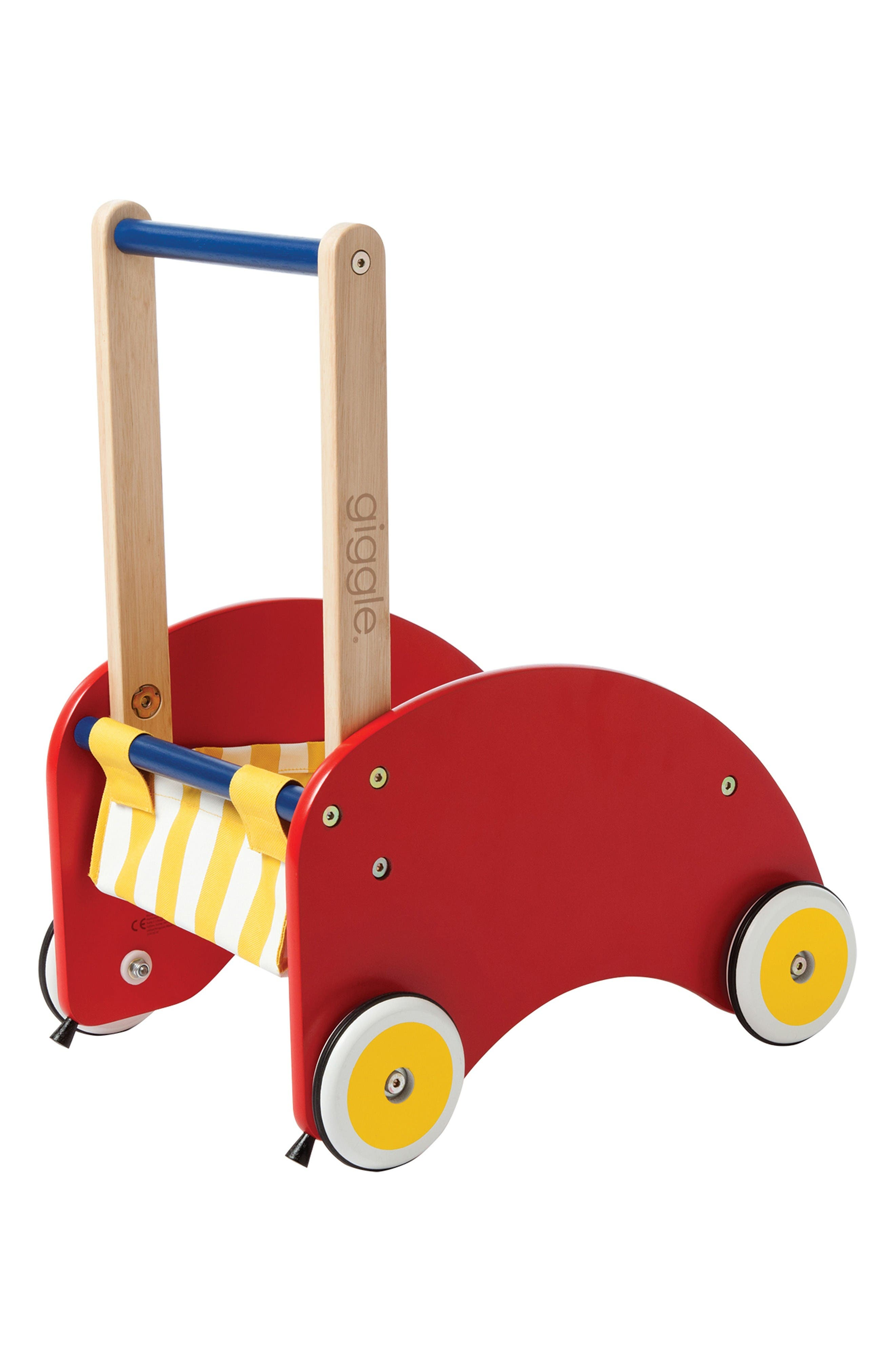 Alternate Image 3  - Manhattan Toy Giggle Wood Push Cart