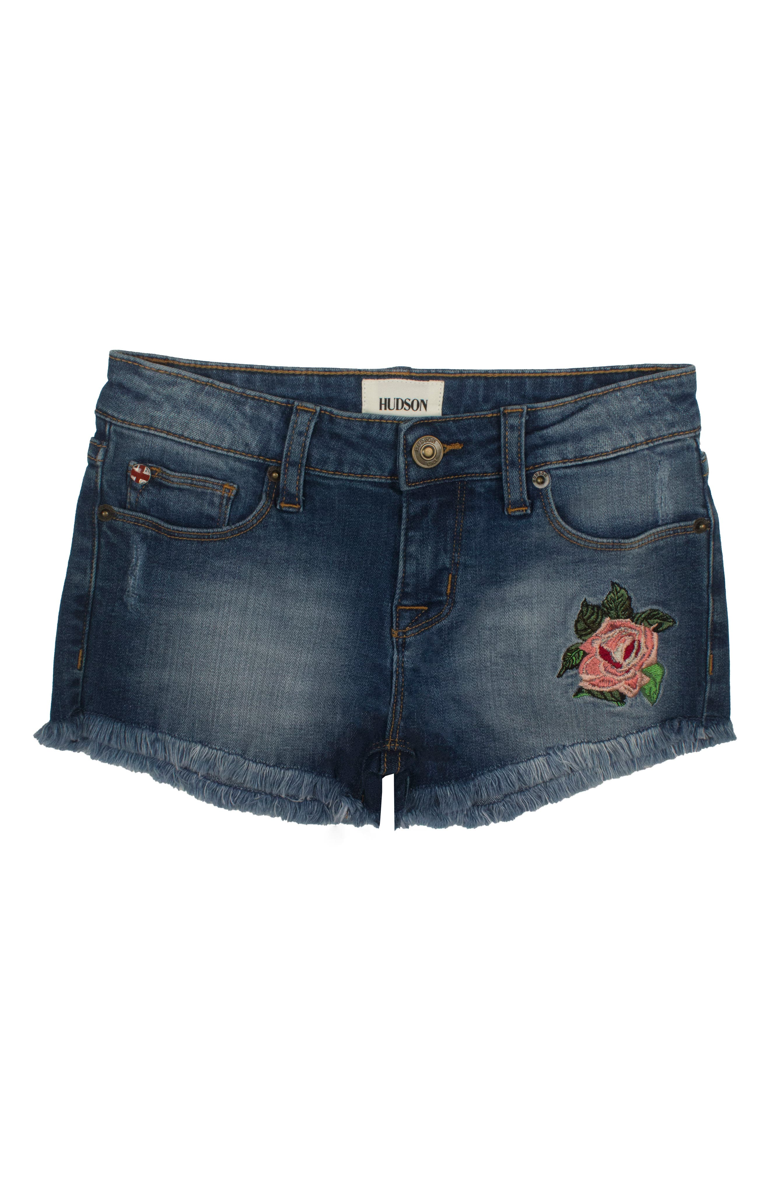 Hudson Kids Superpower Denim Shorts (Big Girls)