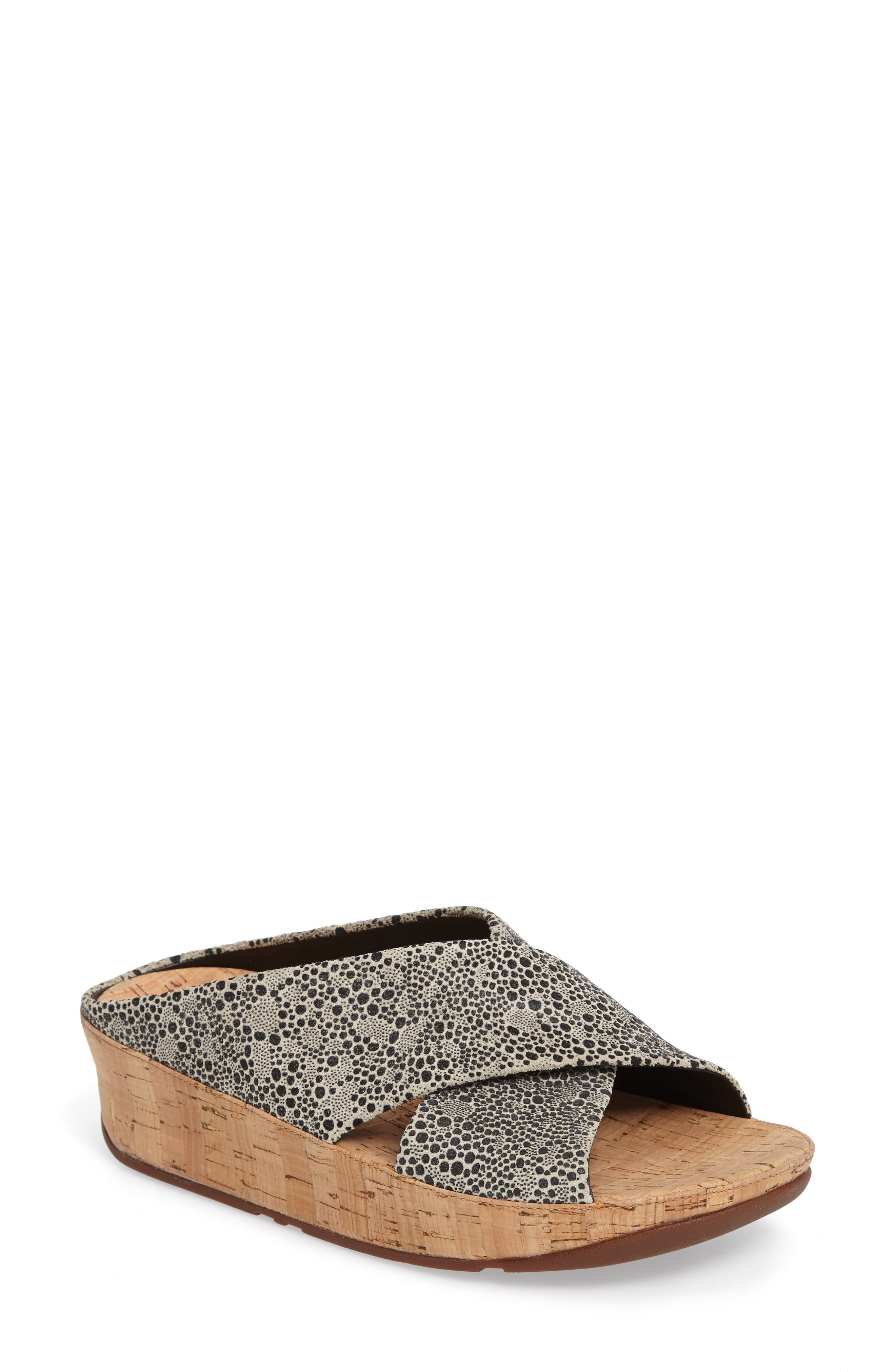 FITFLOP Kys Backless Platform Wedge