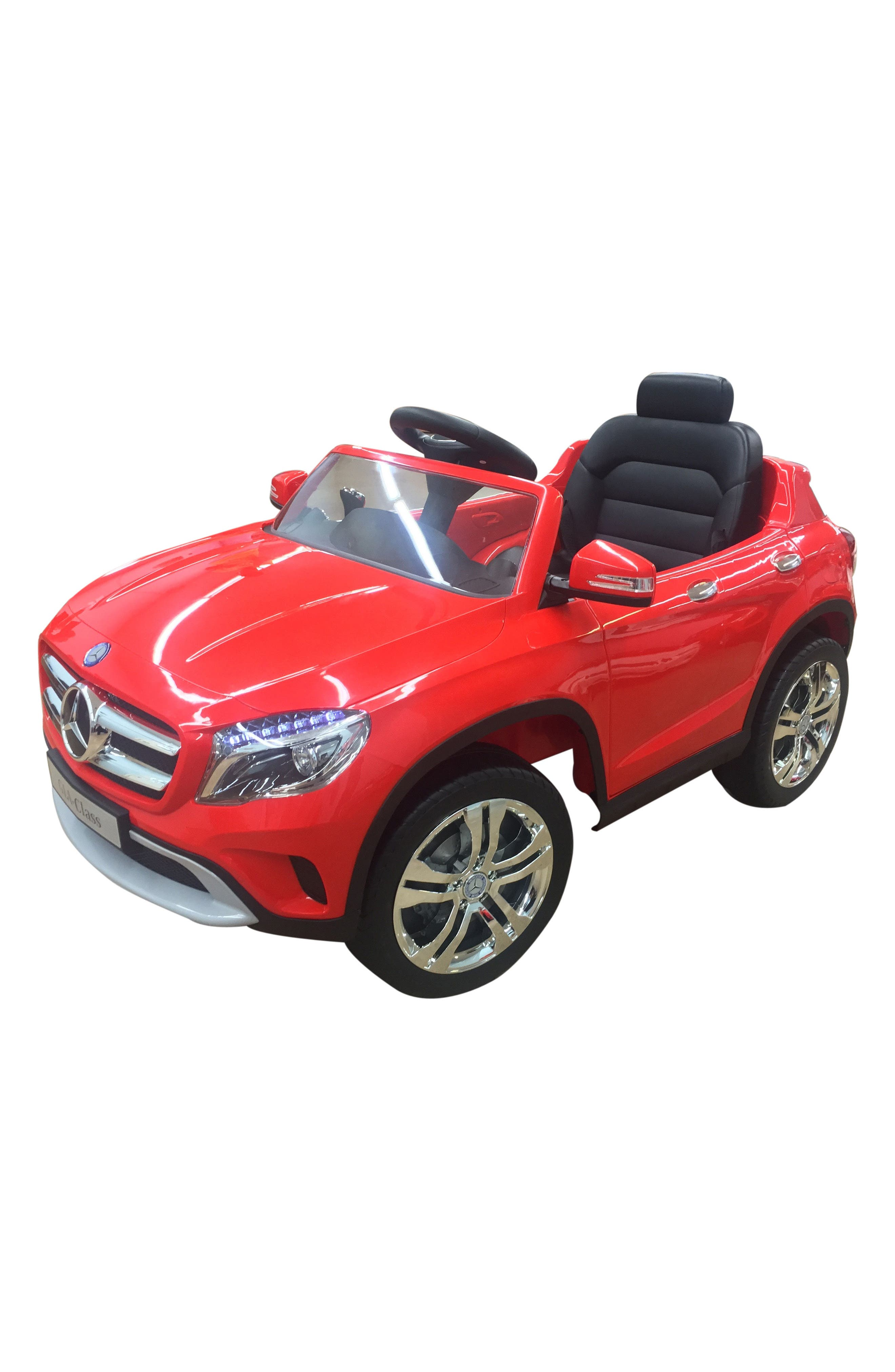 Mercedes GLA Ride-On Car,                         Main,                         color, Red