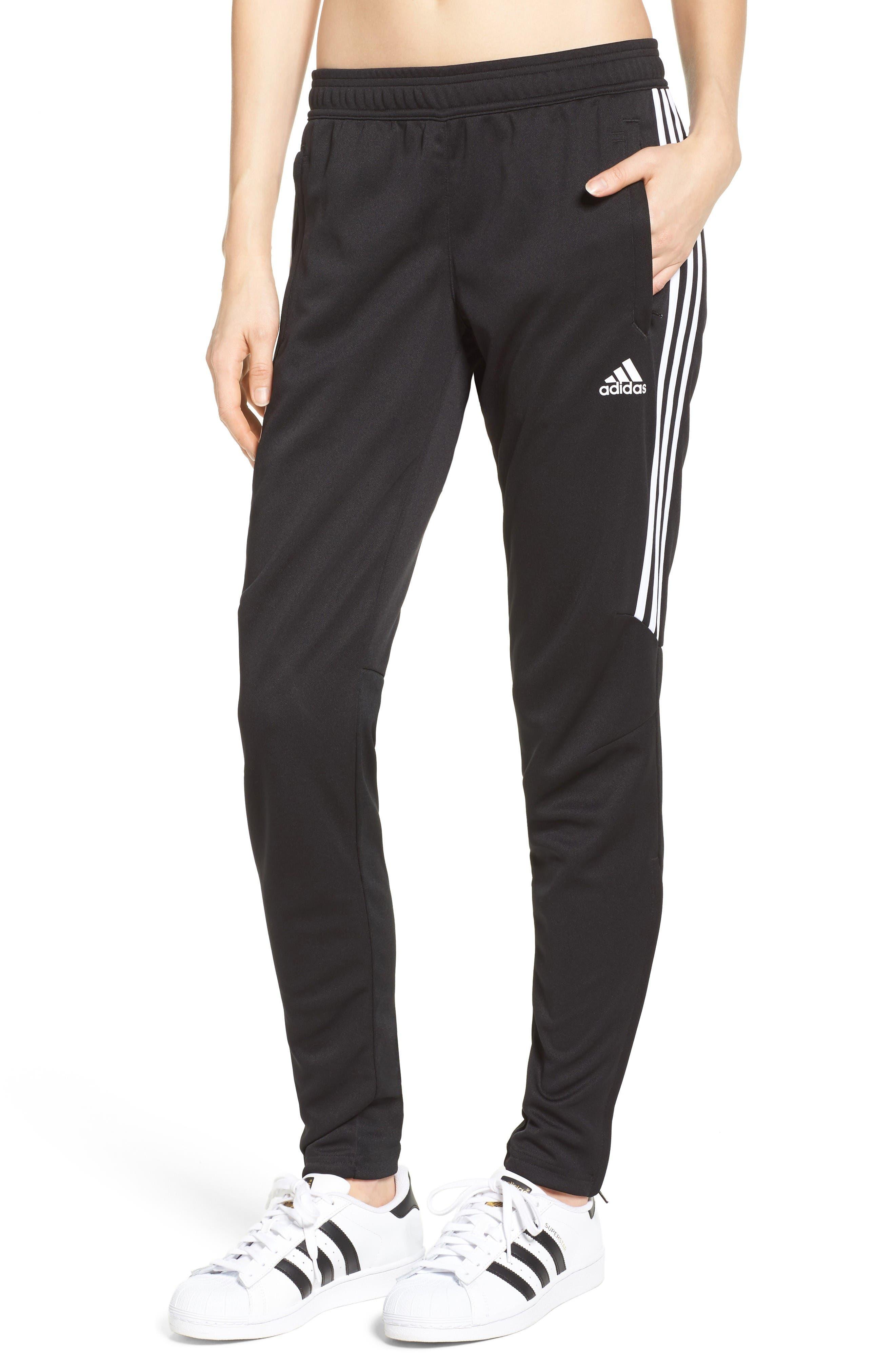 Tiro 17 Training Pants,                         Main,                         color, Black/ White/ White