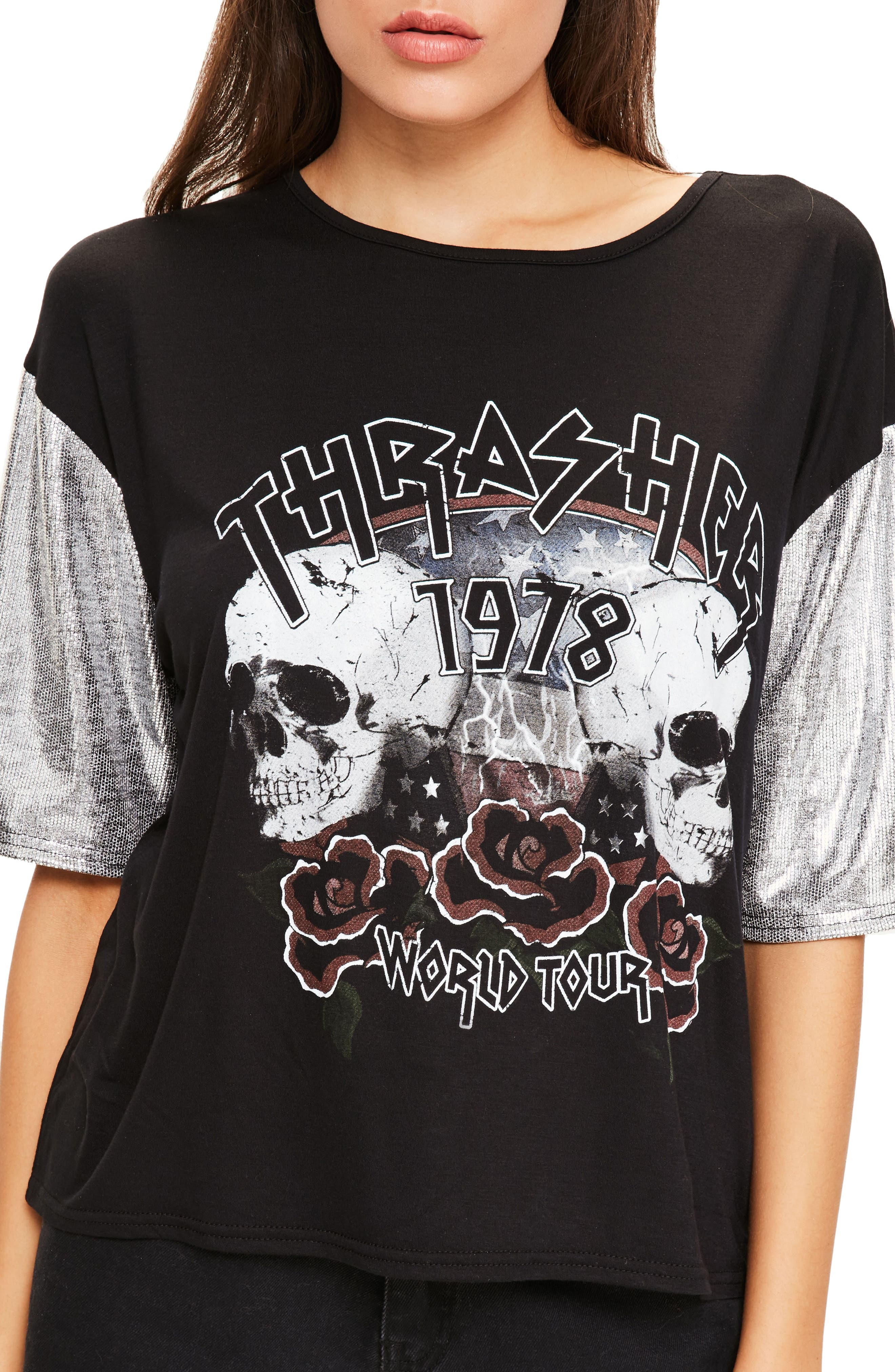 Alternate Image 5  - Missguided Thrasher Tee