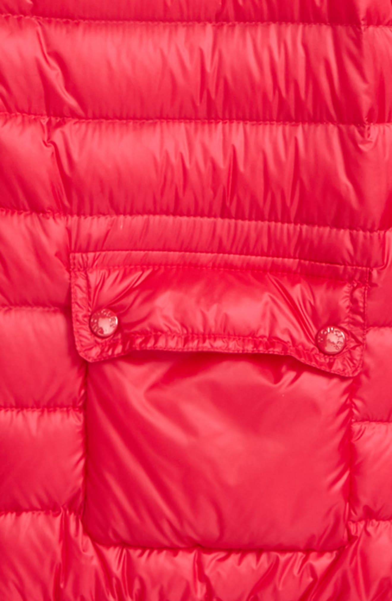 Lans Water Resistant Down Jacket,                             Alternate thumbnail 2, color,                             Fuchsia