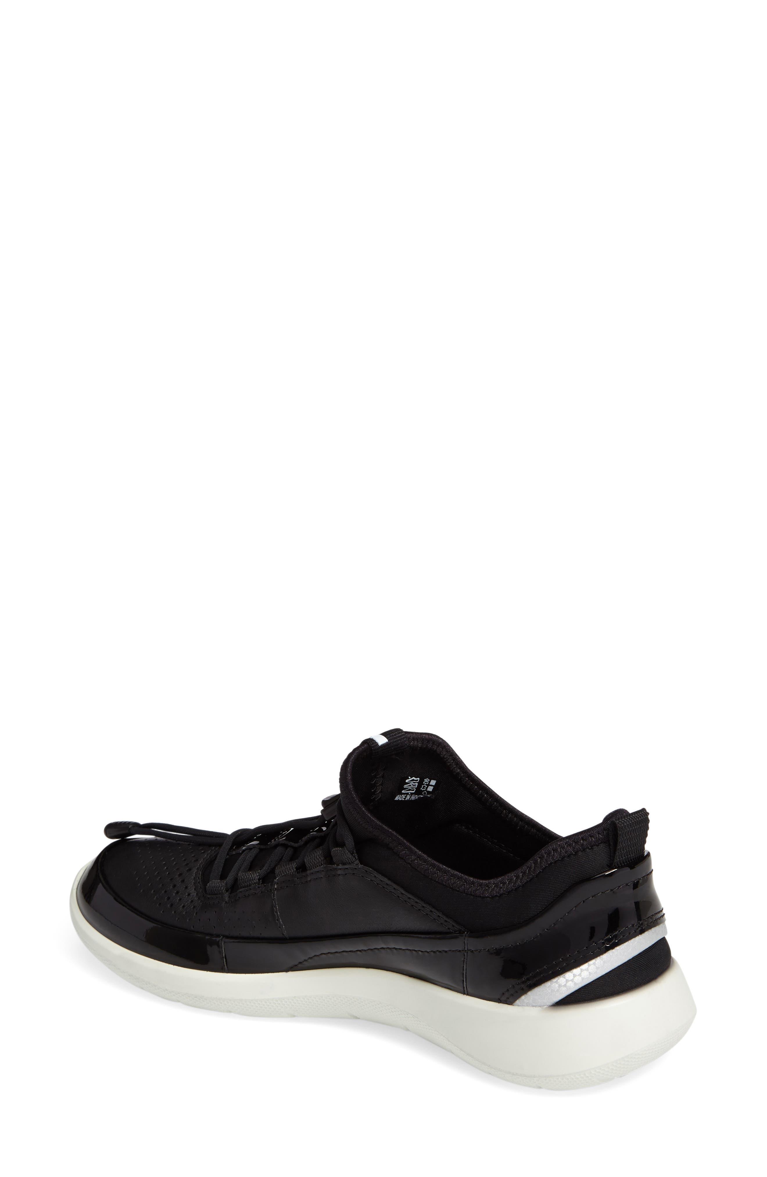 Soft 5 Sneaker,                             Alternate thumbnail 2, color,                             Black Leather