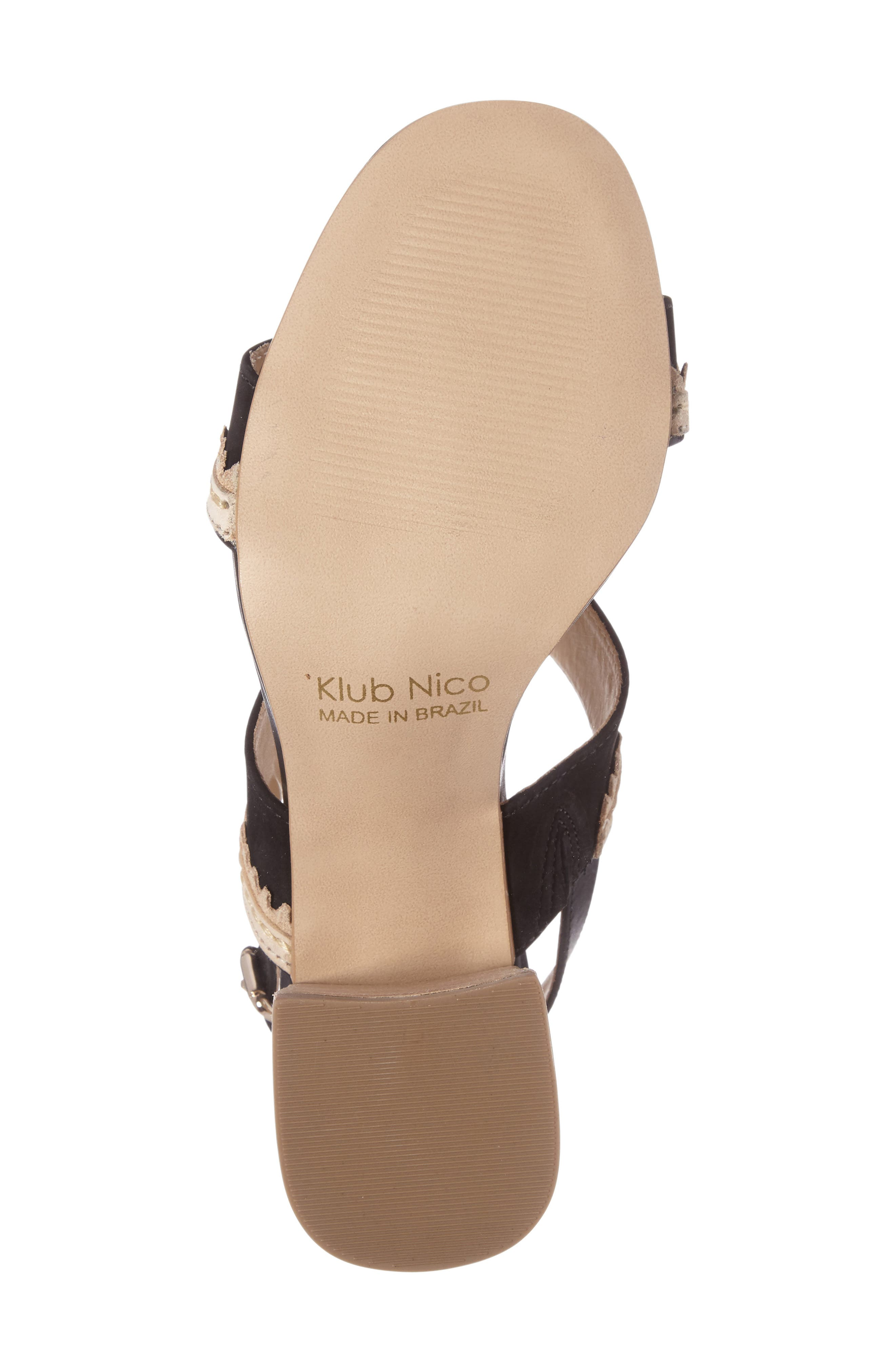 Alternate Image 4  - Klub Nico Rycca Block Heel Sandal (Women)
