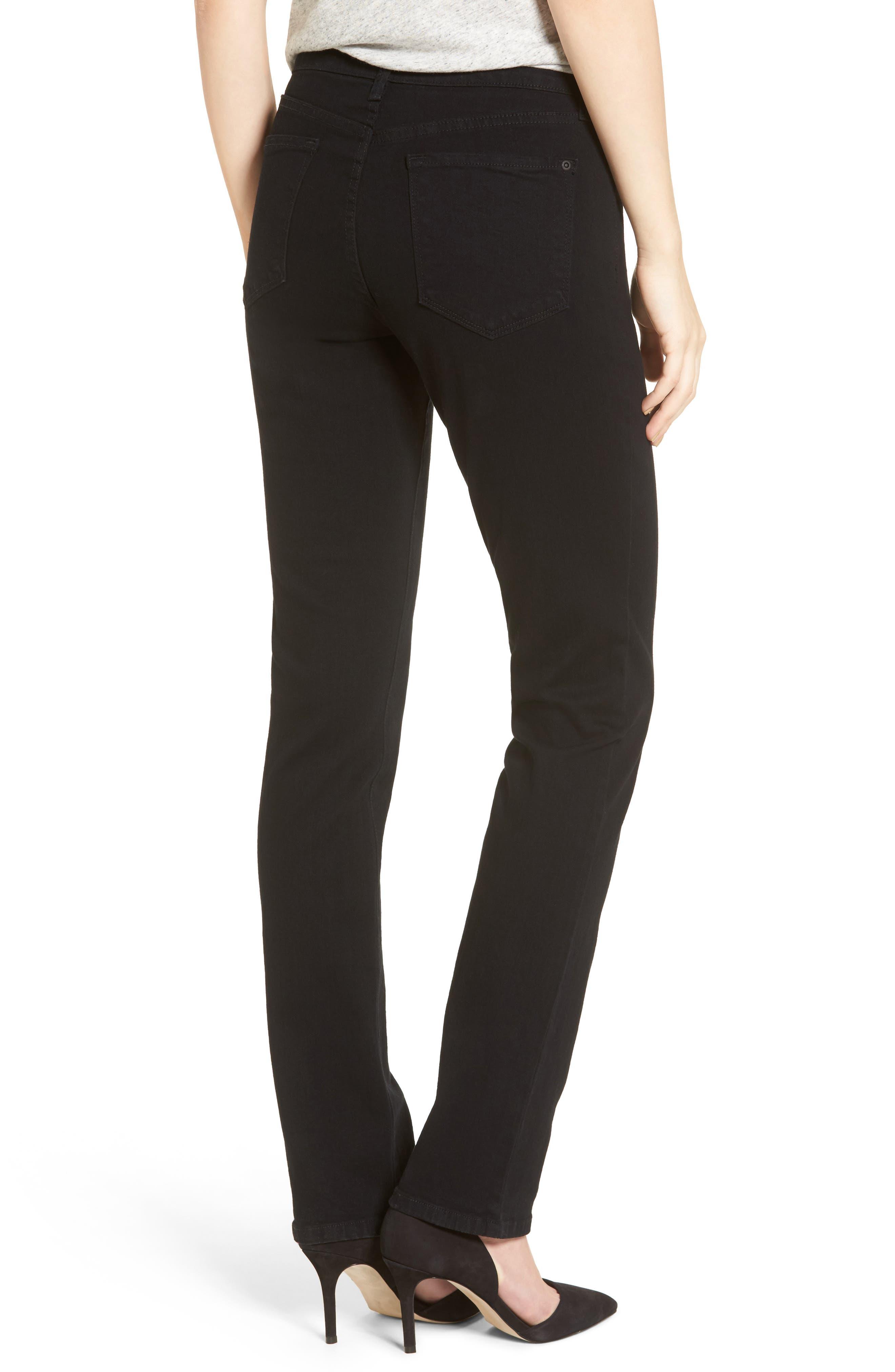 Alternate Image 2  - NYDJ Sheri Stretch Skinny Jeans (Long)