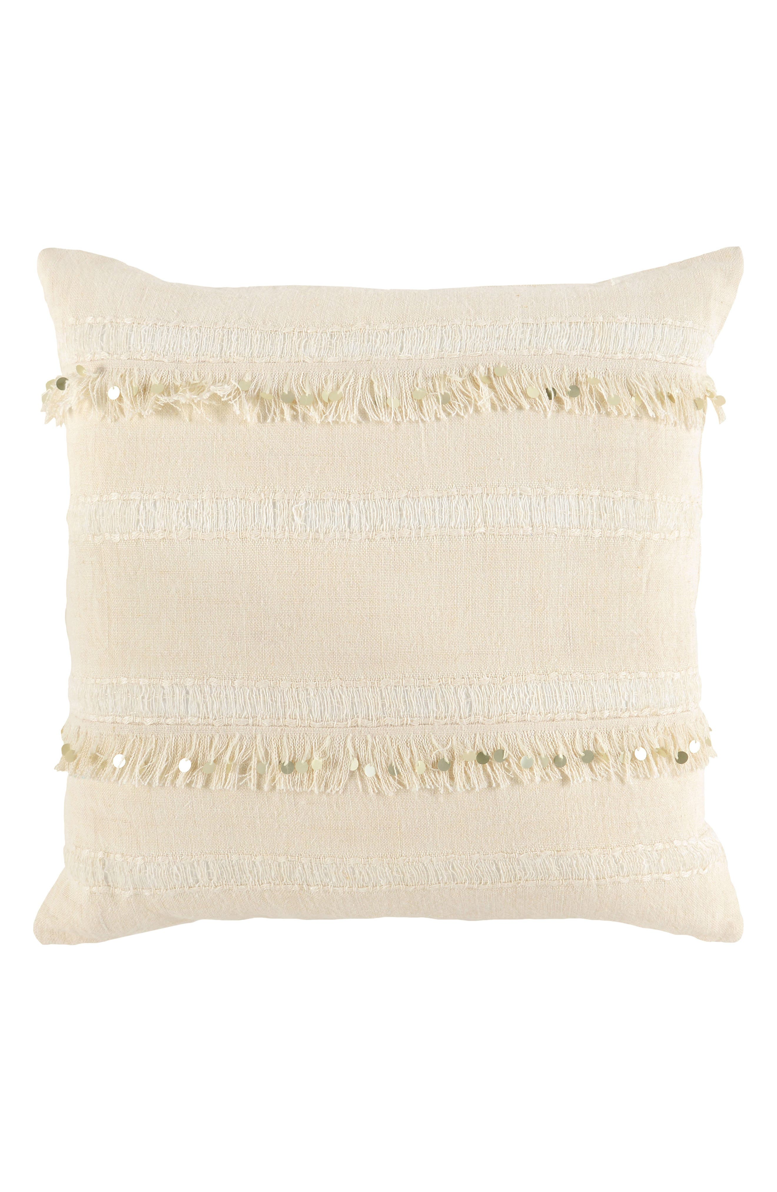Dirade Accent Pillow,                             Main thumbnail 1, color,                             Ivory