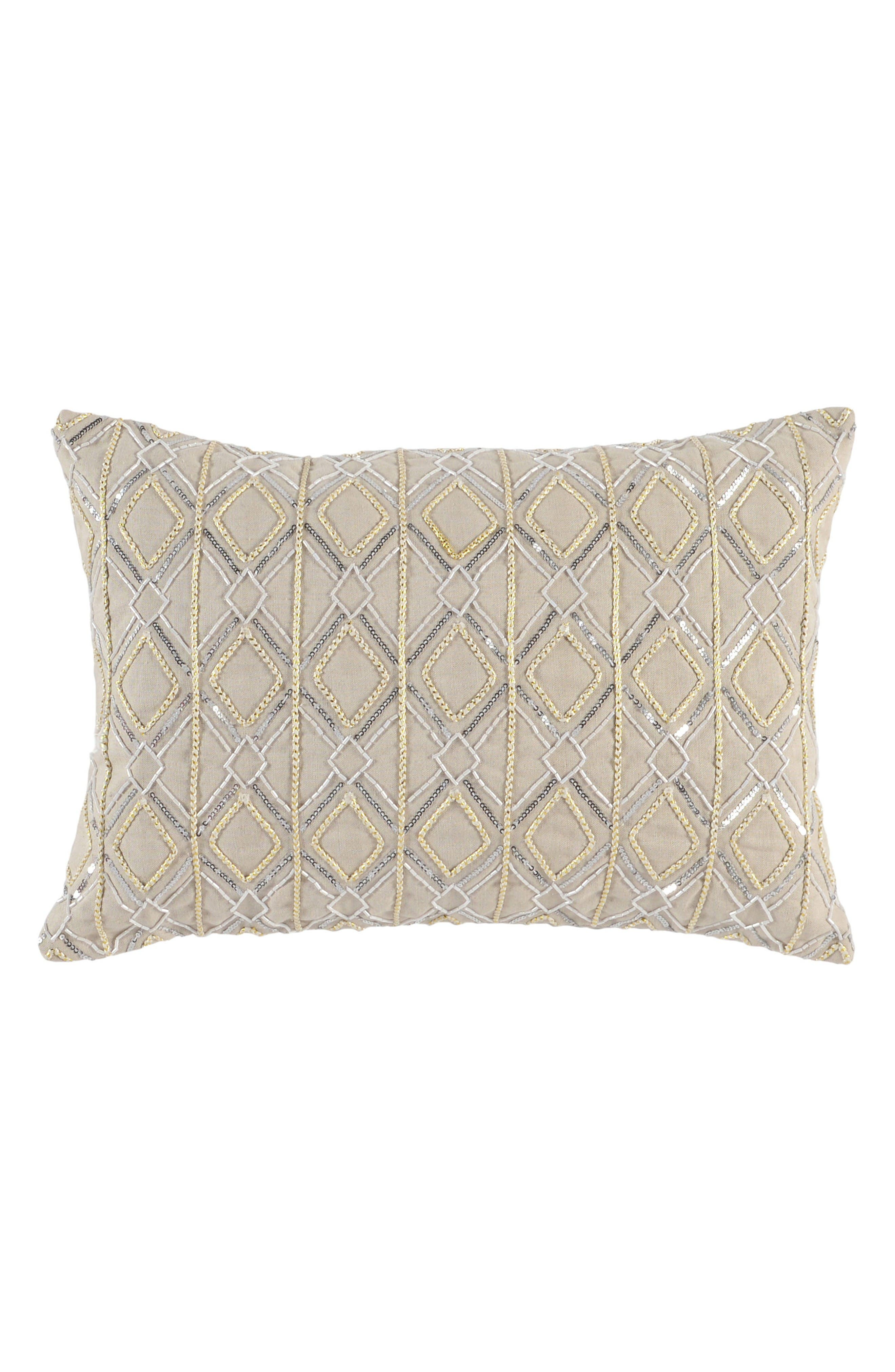 Aledo Accent Pillow,                         Main,                         color, Ivory
