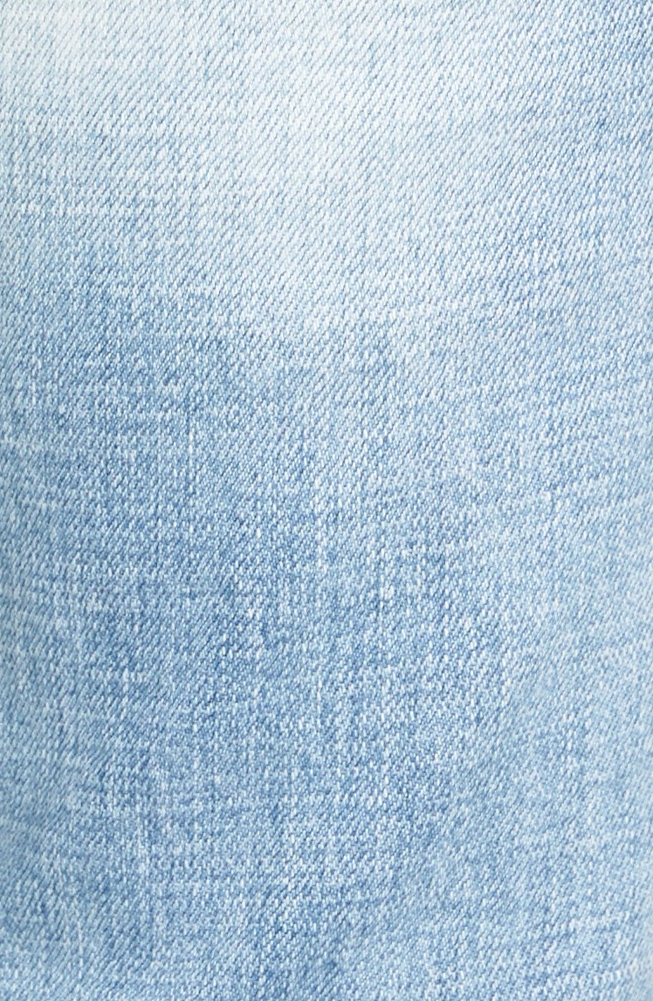 Alternate Image 5  - KUT from the Kloth Catherine Distressed Boyfriend Jeans (Hail)