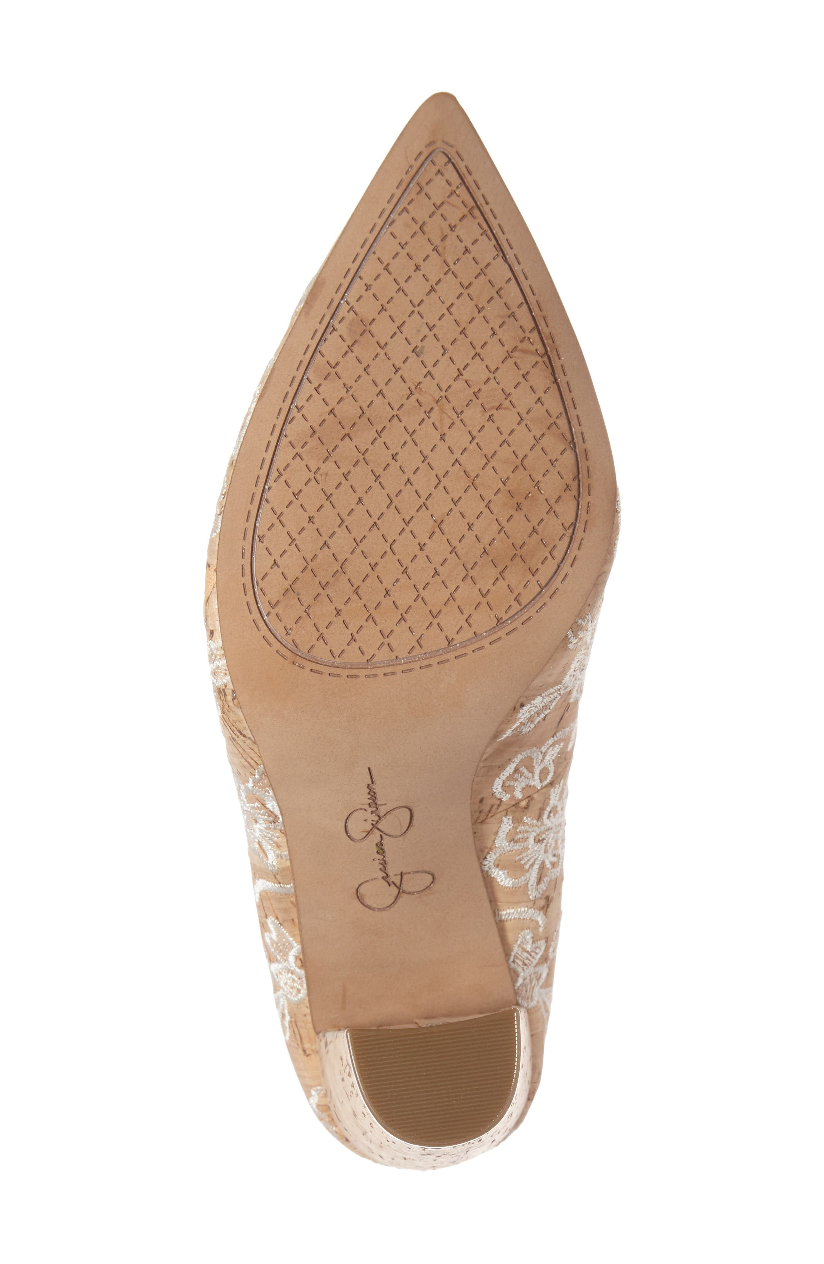 Alternate Image 4  - Jessica Simpson Tanysha Pointy Toe Pump (Women)