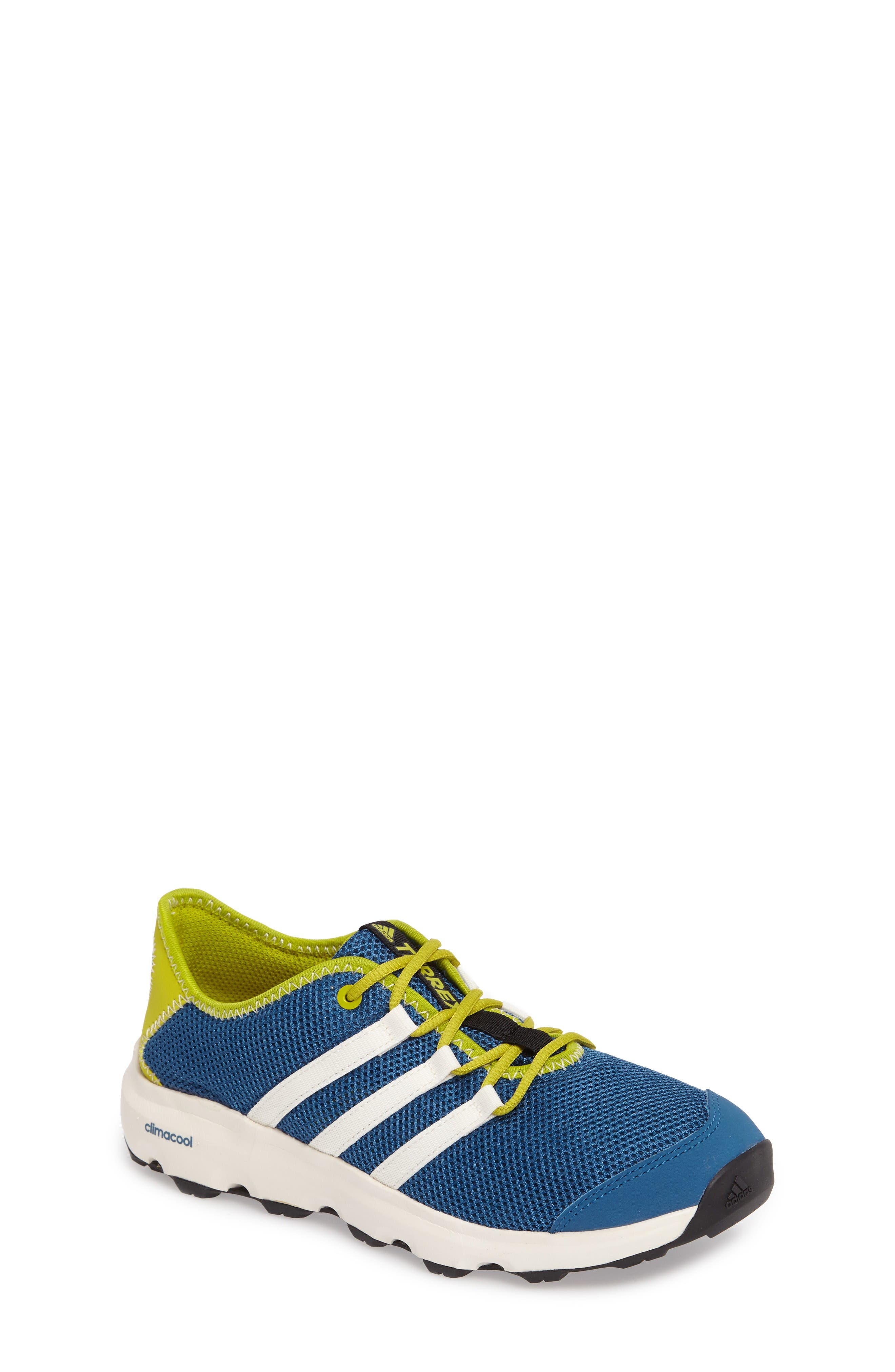 Terrex Climacool<sup>®</sup> Voyager Sneaker,                             Main thumbnail 1, color,                             Core Blue/ Chalk White/ Lime