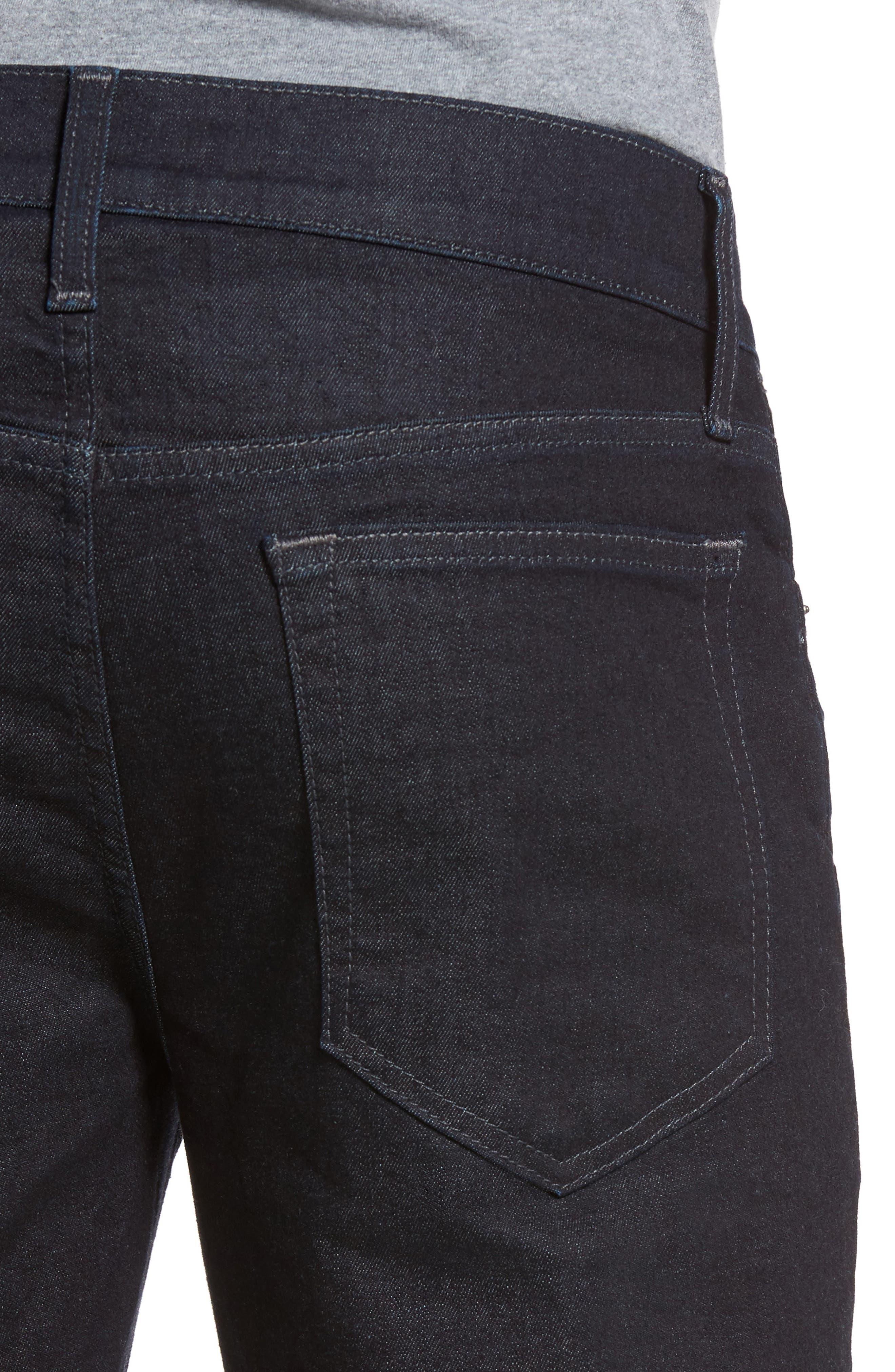 Alternate Image 4  - Joe's Slim Fit Jeans (Nuhollis)