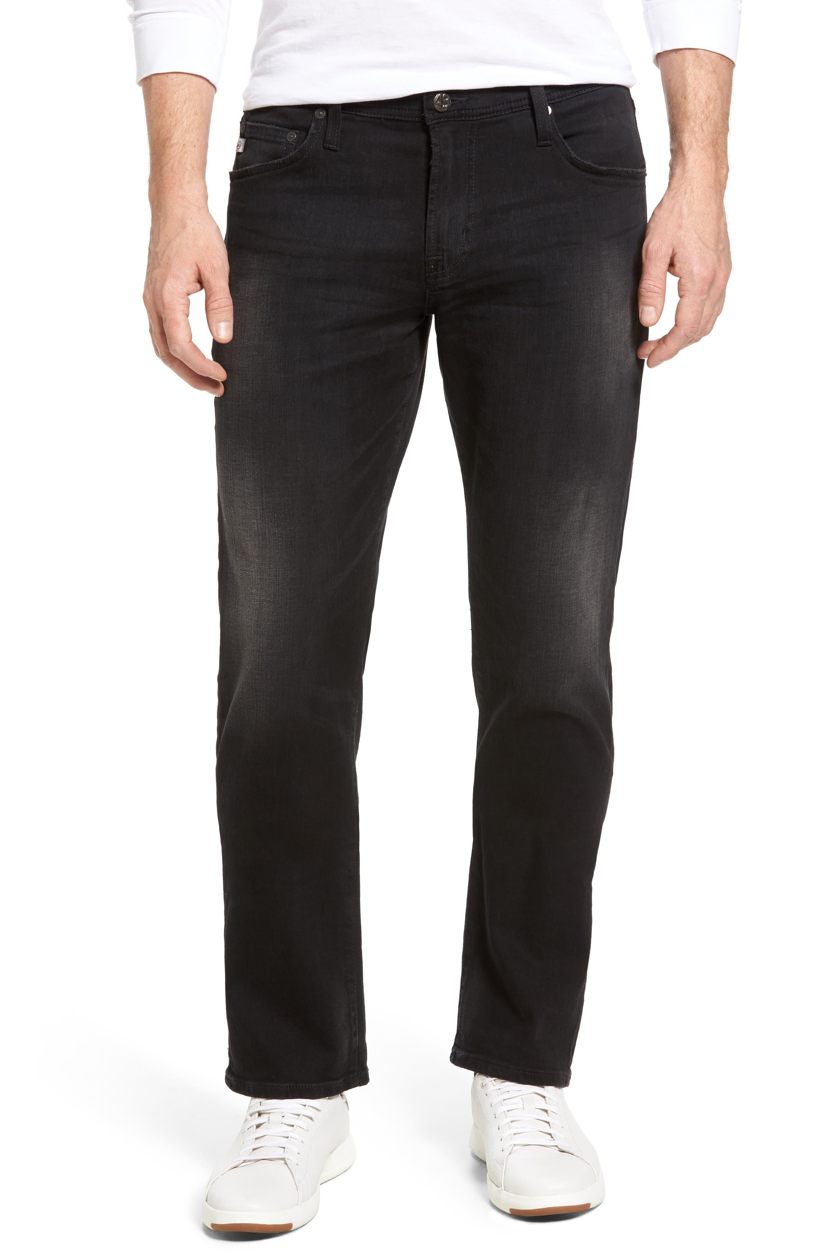 Graduate Slim Straight Leg Jeans,                         Main,                         color, 3 Years Cinema