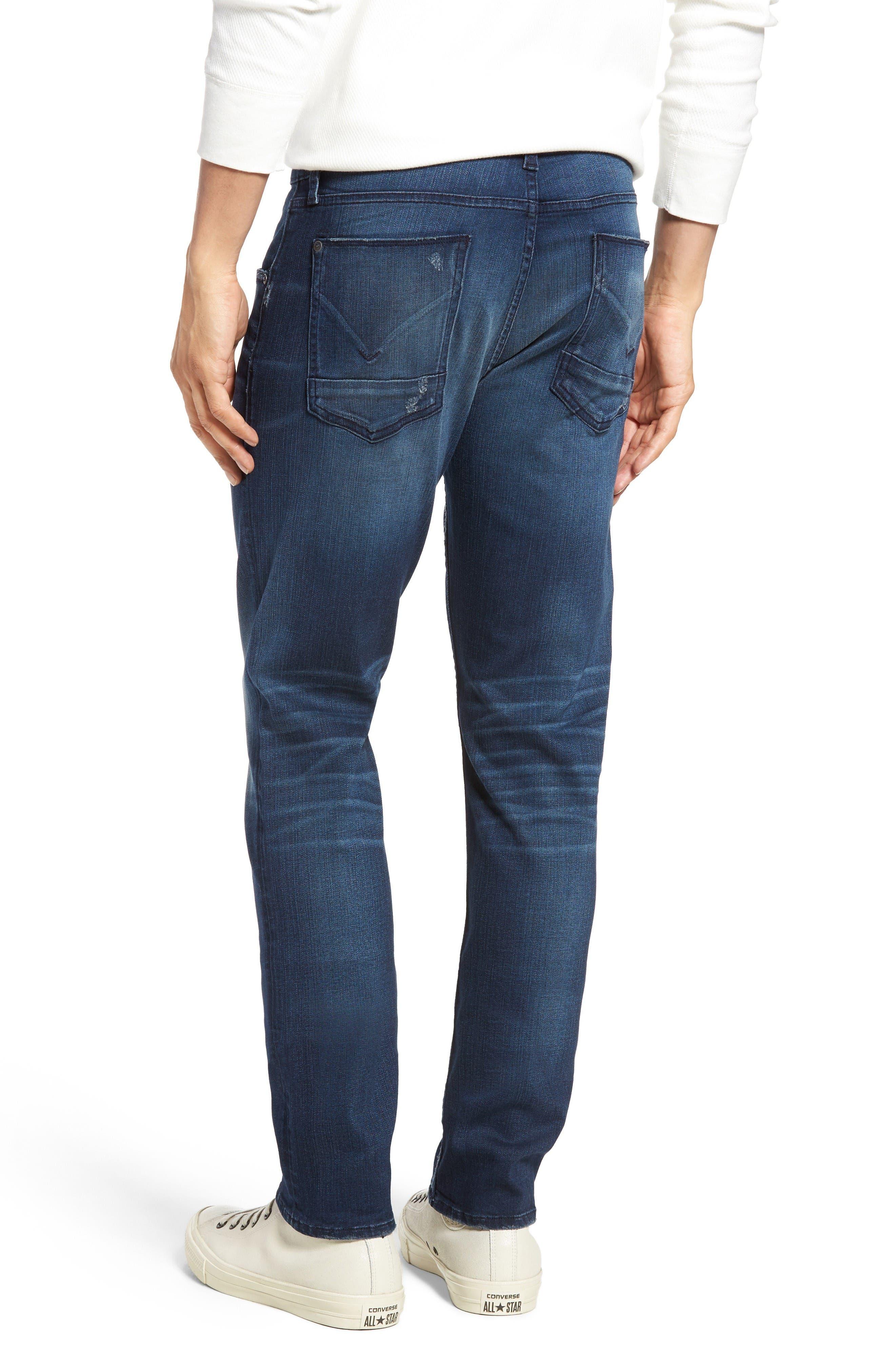 Blake Slim Fit Jeans,                             Alternate thumbnail 2, color,                             Napoleon Blue