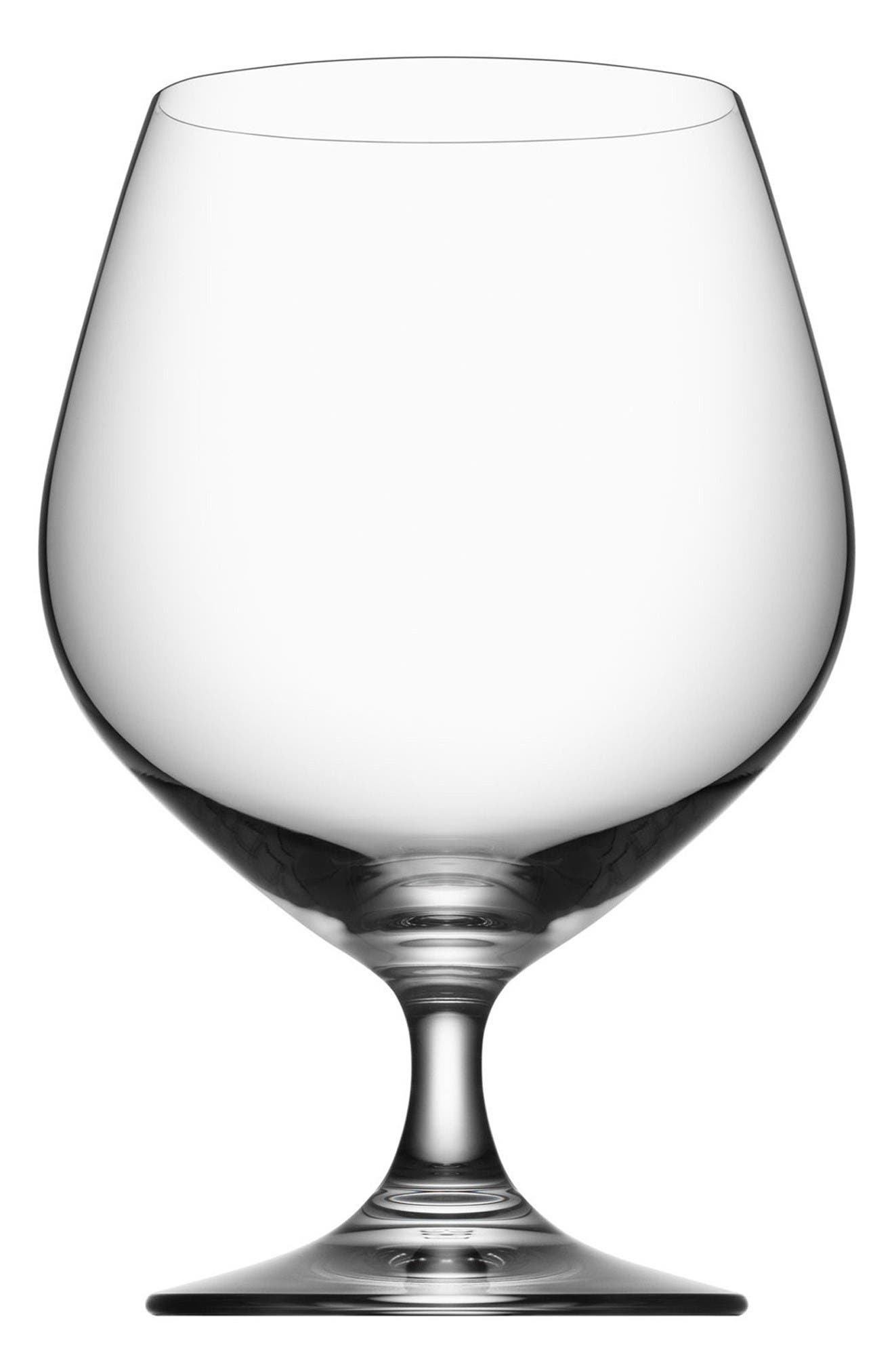 Orrefors Prestige Set of 4 Cognac Snifters