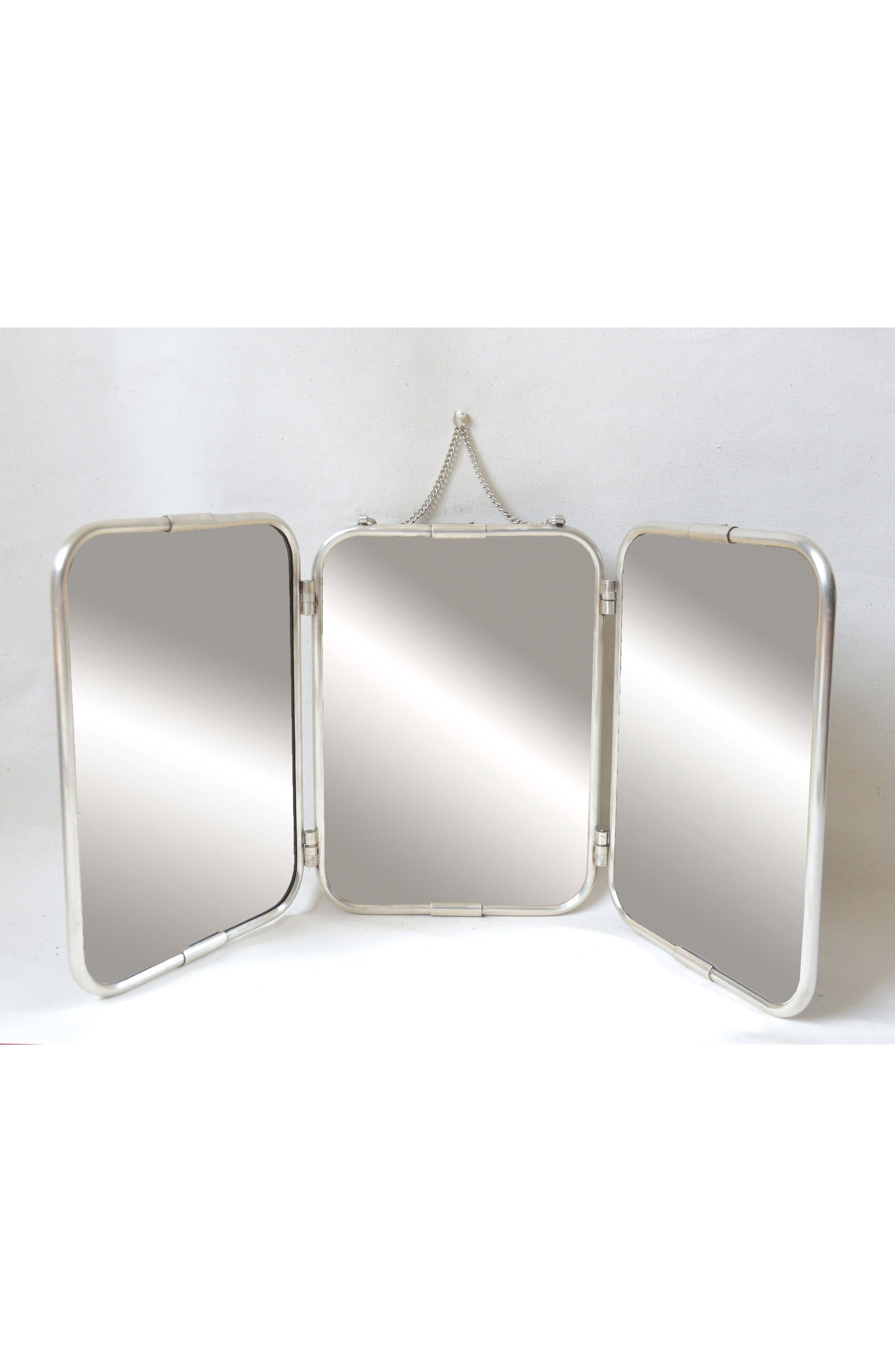 Alternate Image 2  - Creative Co-Op 3-Panel Mirror