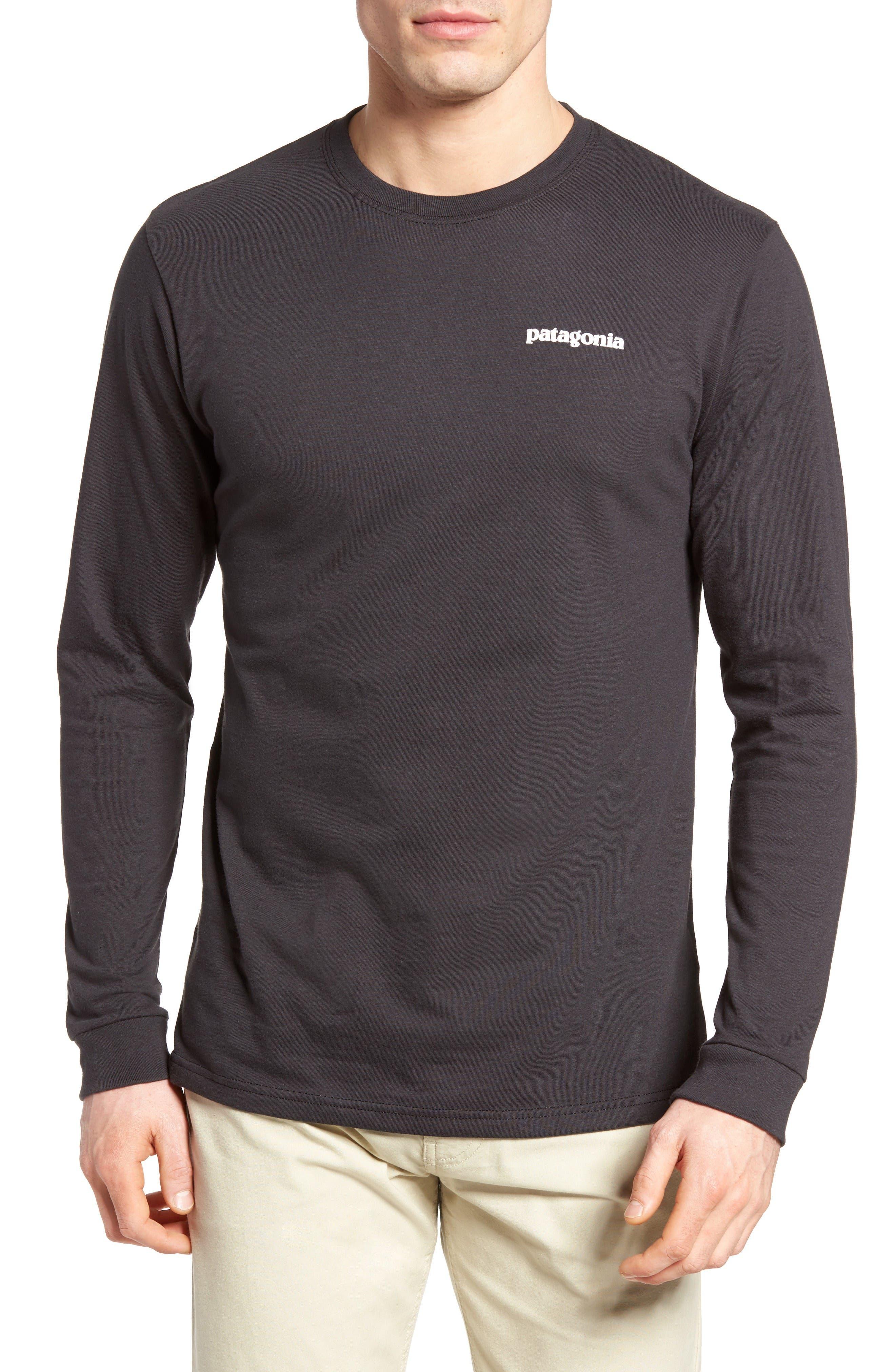 Main Image - Patagonia P-6 Logo Organic Cotton T-Shirt