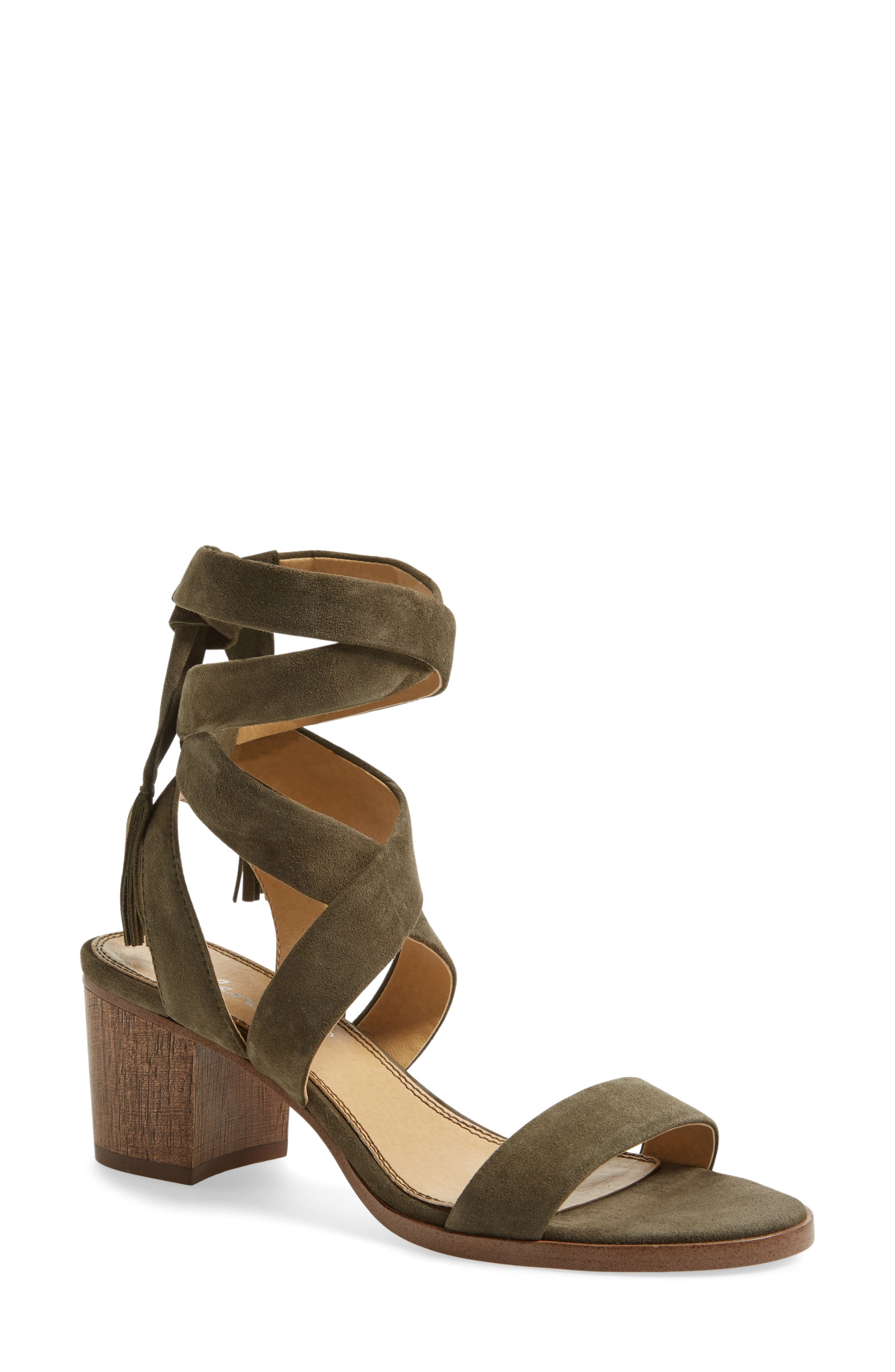 Alternate Image 1 Selected - Splendid Janet Block Heel Sandal (Women)