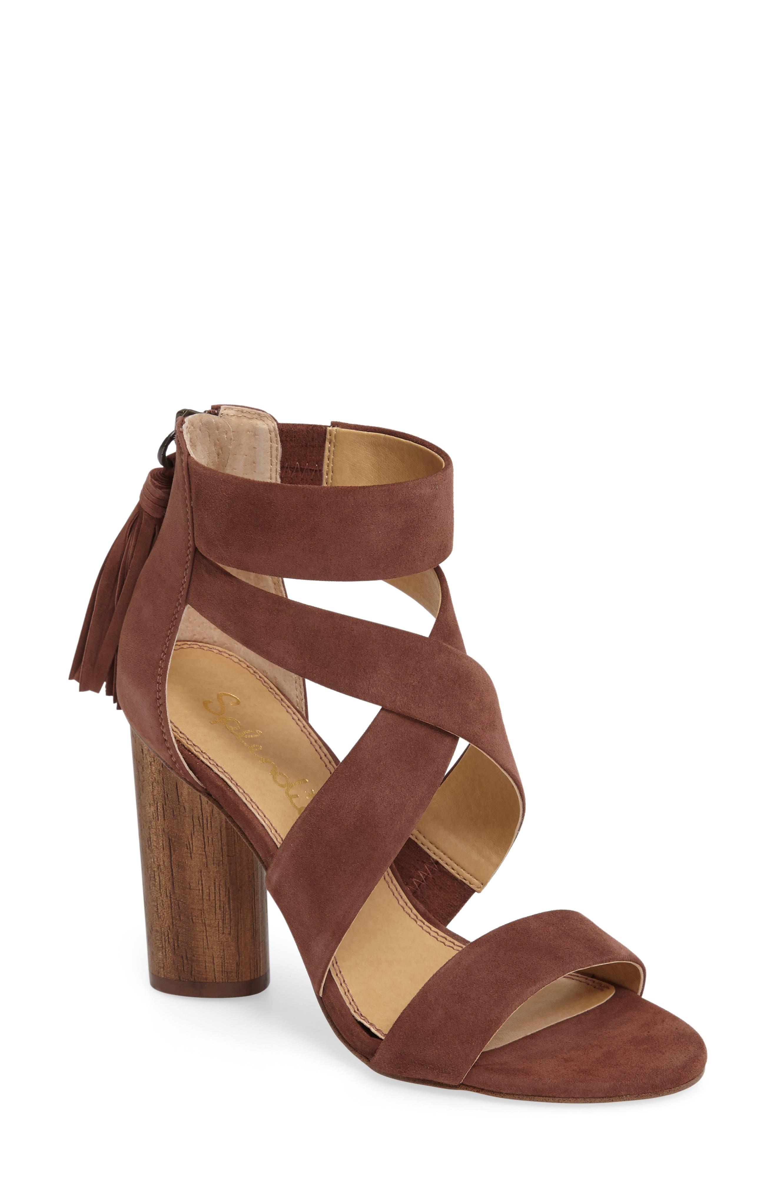 Alternate Image 1 Selected - Splendid Jara Statement Heel Sandal (Women)