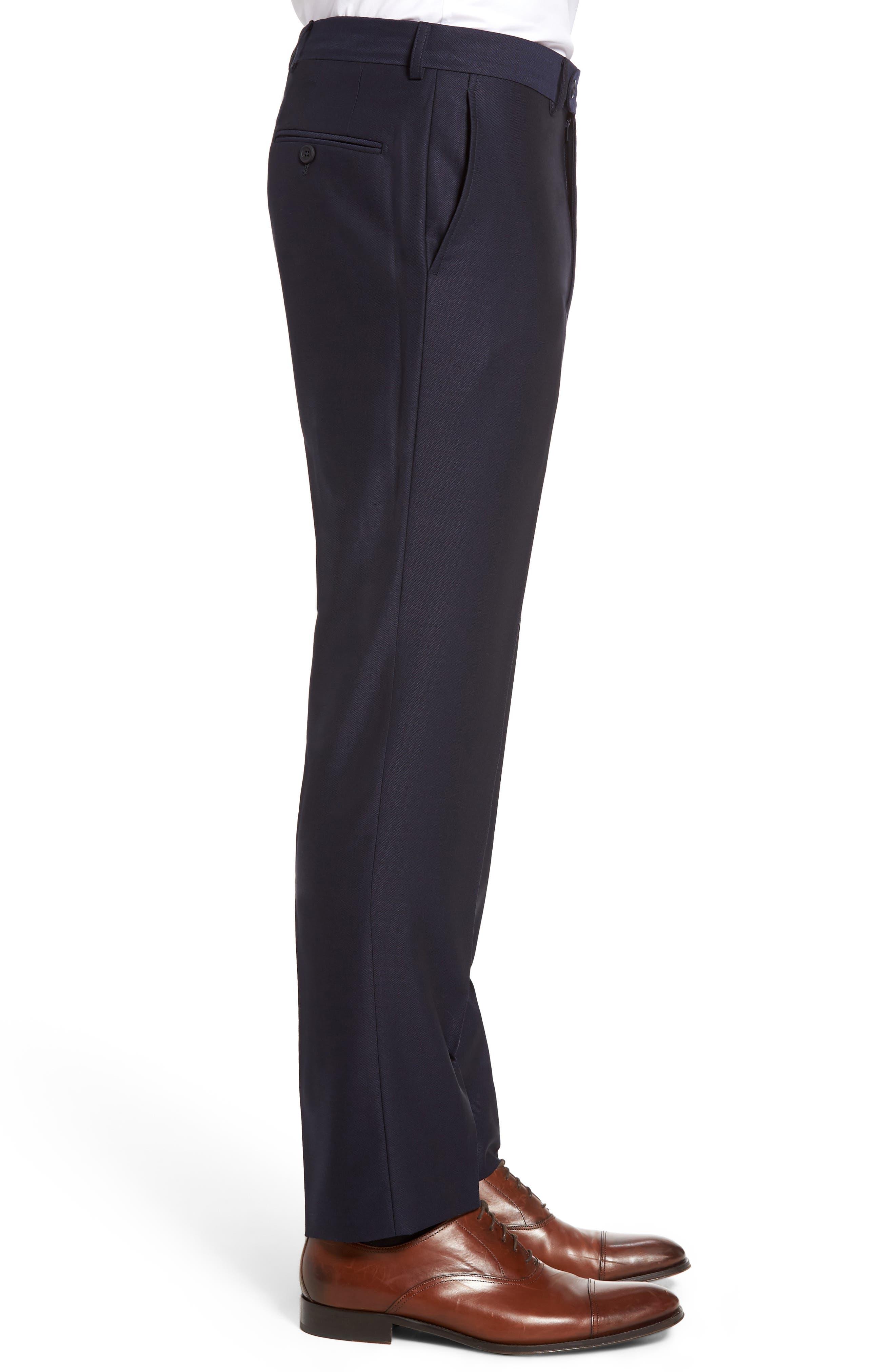 Alternate Image 3  - Bensol Pin Dot Wool Trousers