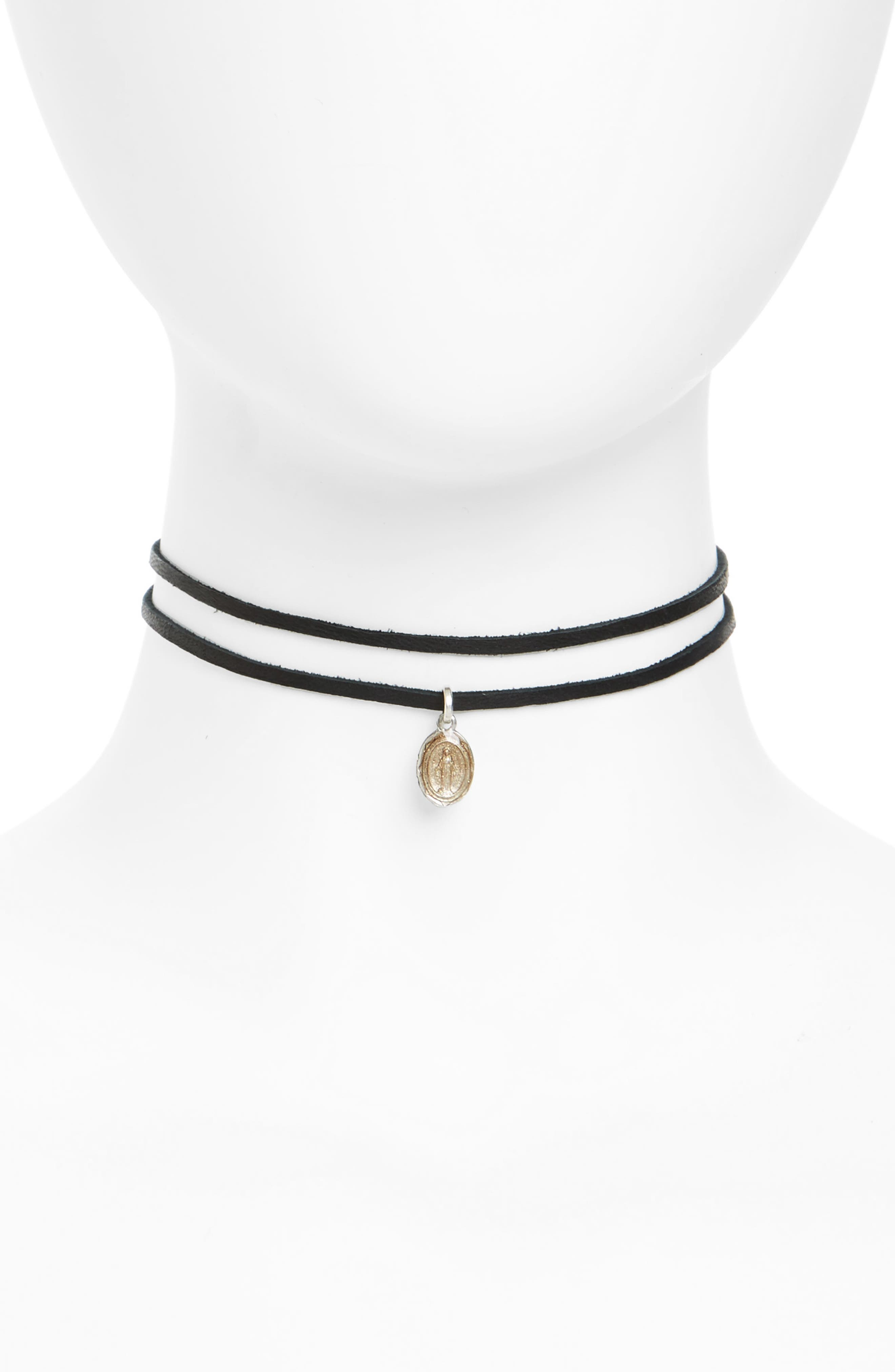 VIRGINS SAINTS & ANGELS Virgin of Miracles Choker