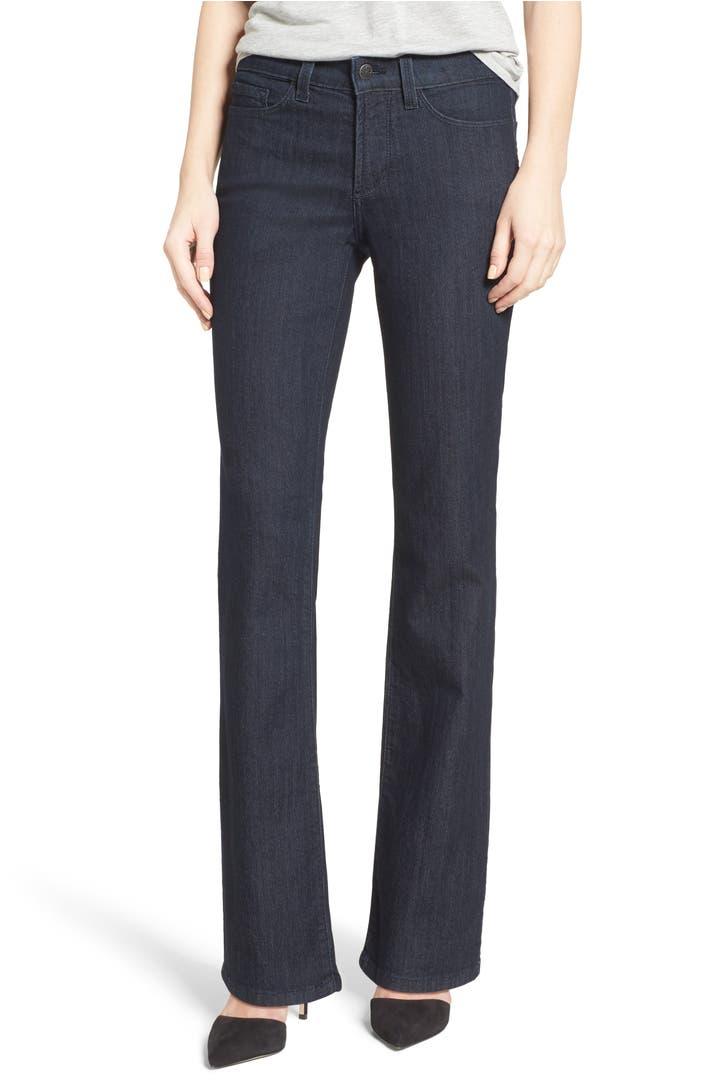 nydj barbara stretch bootcut jeans nordstrom. Black Bedroom Furniture Sets. Home Design Ideas