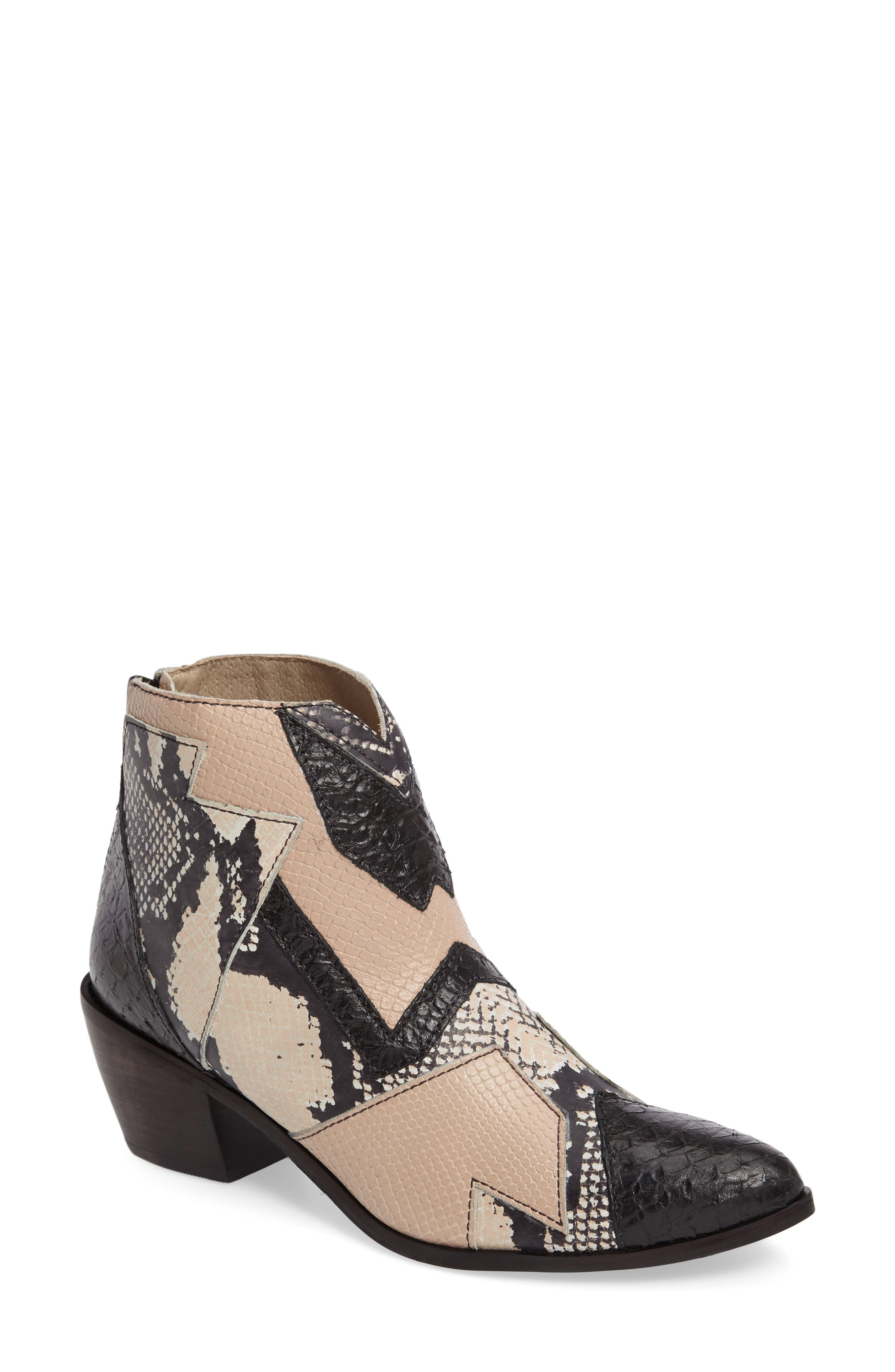 Main Image - Amuse Society x Matisse Last Call Patchwork Bootie (Women)