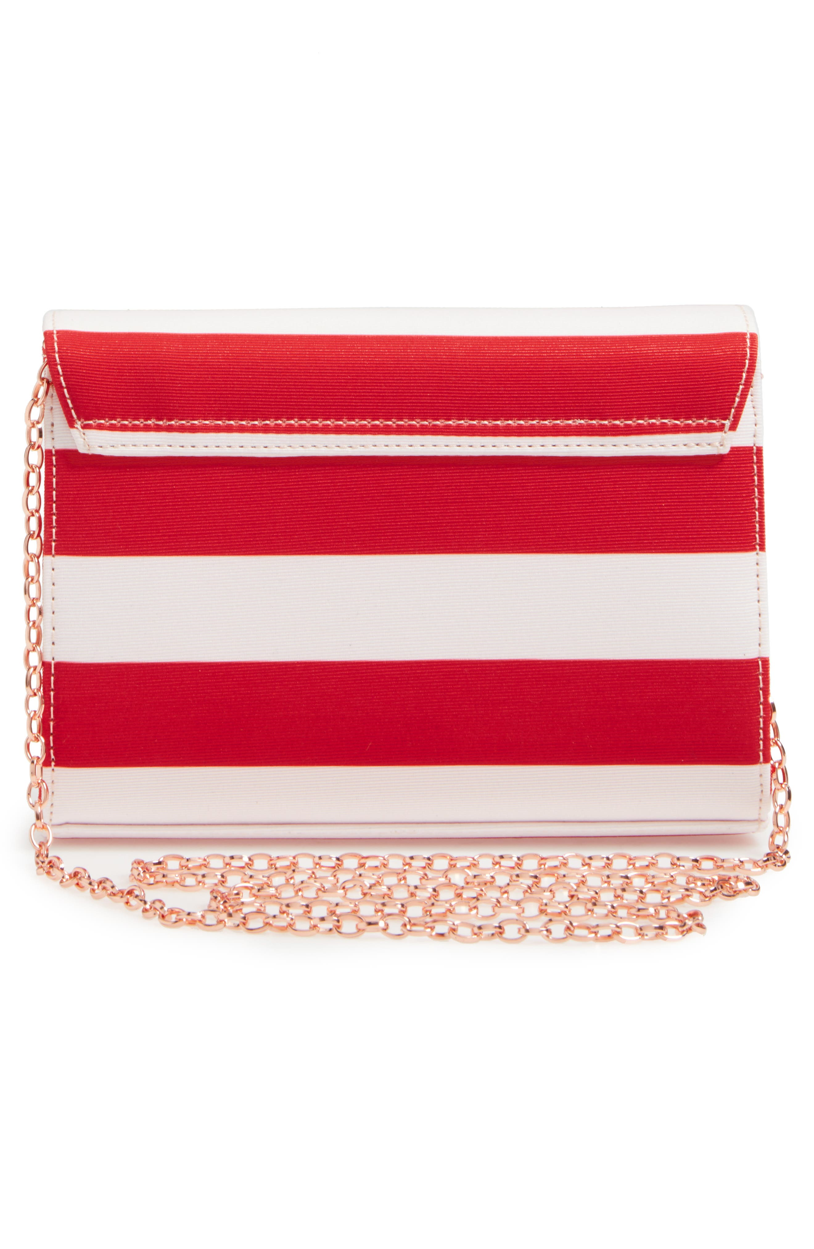 Alternate Image 3  - Ted Baker London Pier Stripe Clutch