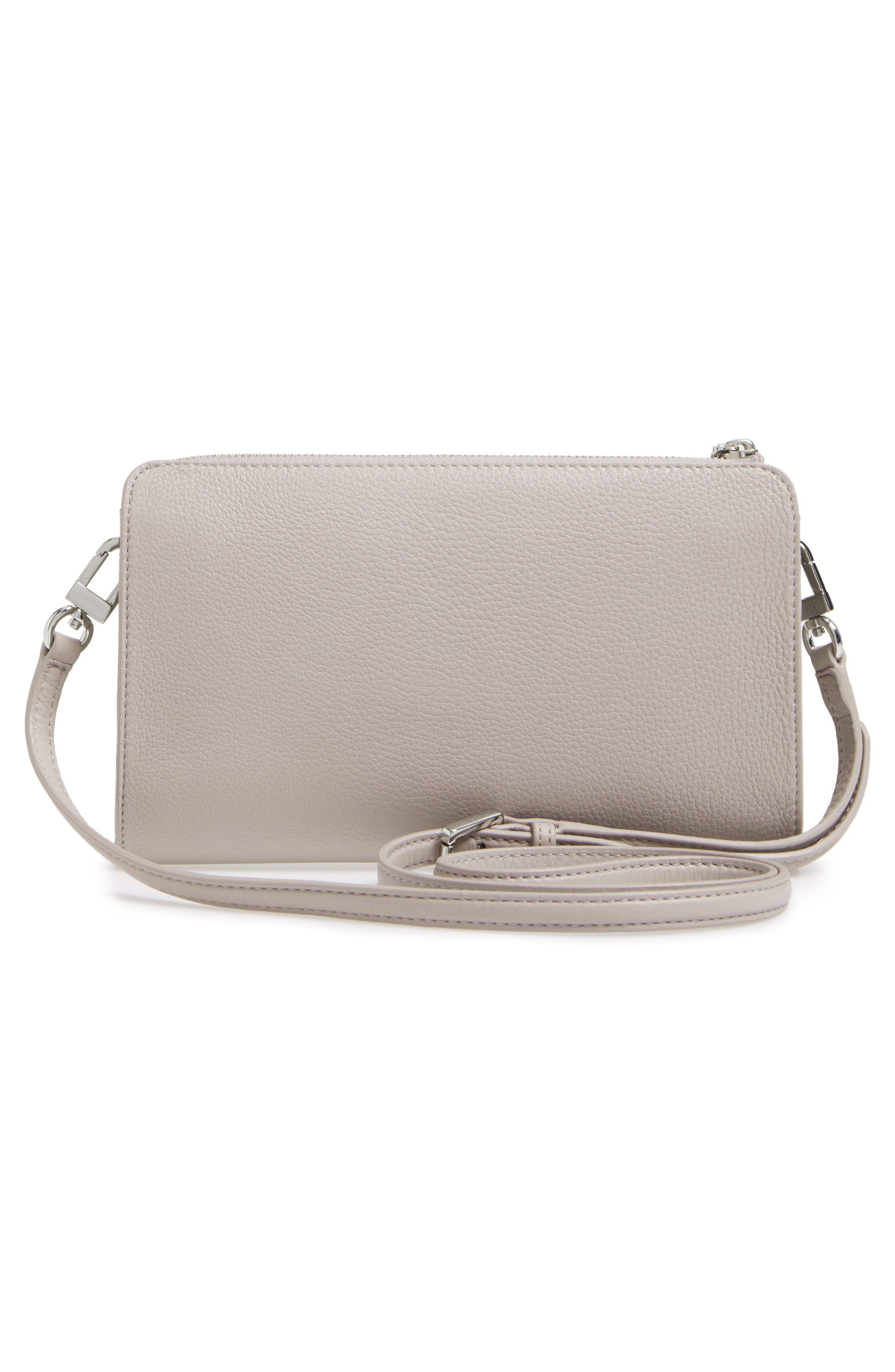 Alternate Image 3  - Tory Burch Robinson Leather Wallet/Crossbody Bag