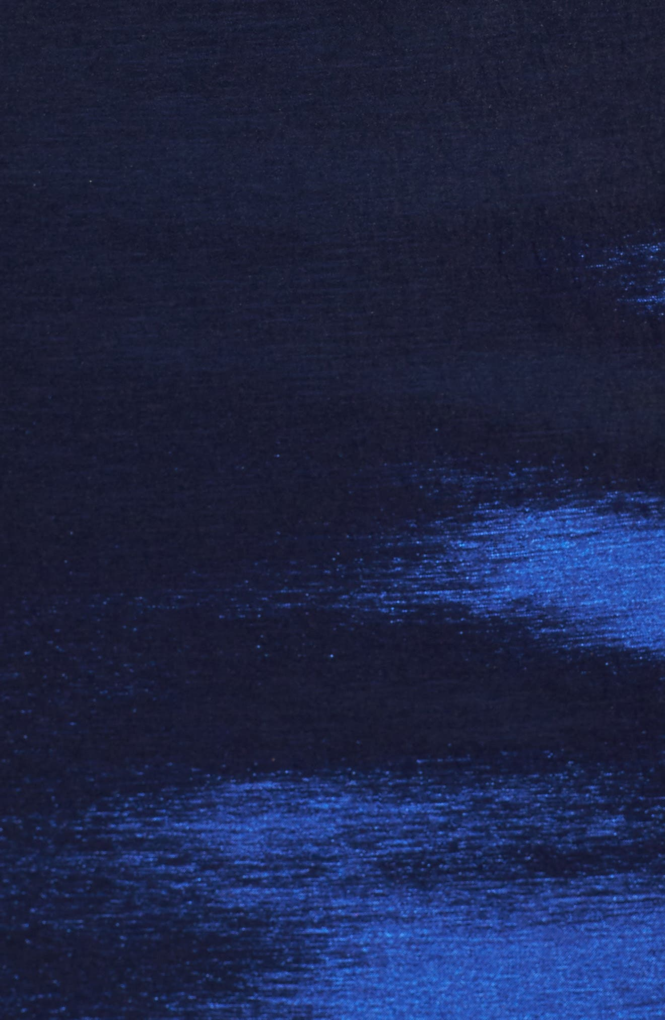 Embellished Waist Taffeta Ballgown,                             Alternate thumbnail 5, color,                             Sapphire