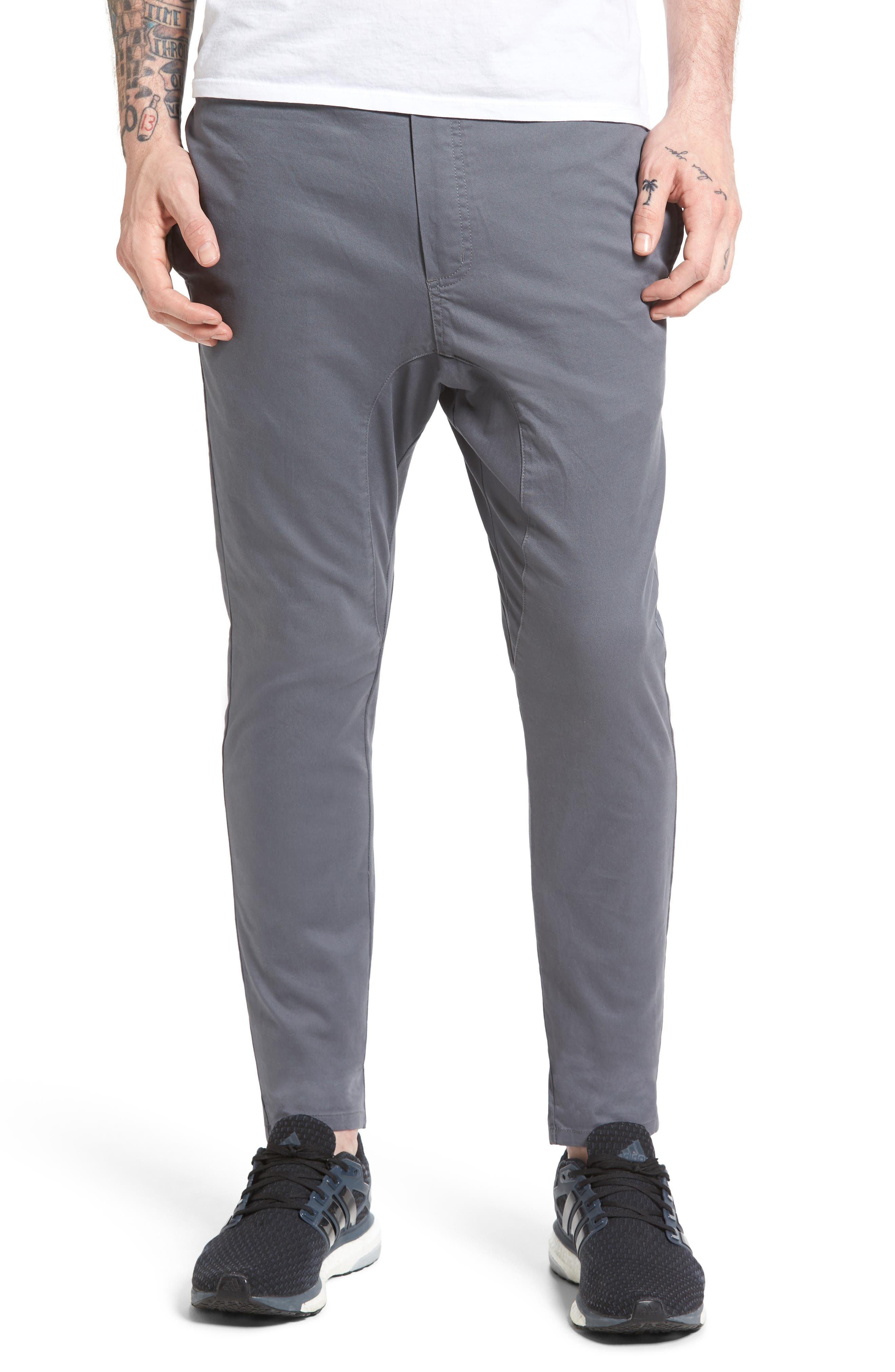 Salerno Stretch Woven Jogger Pants,                         Main,                         color, Grey