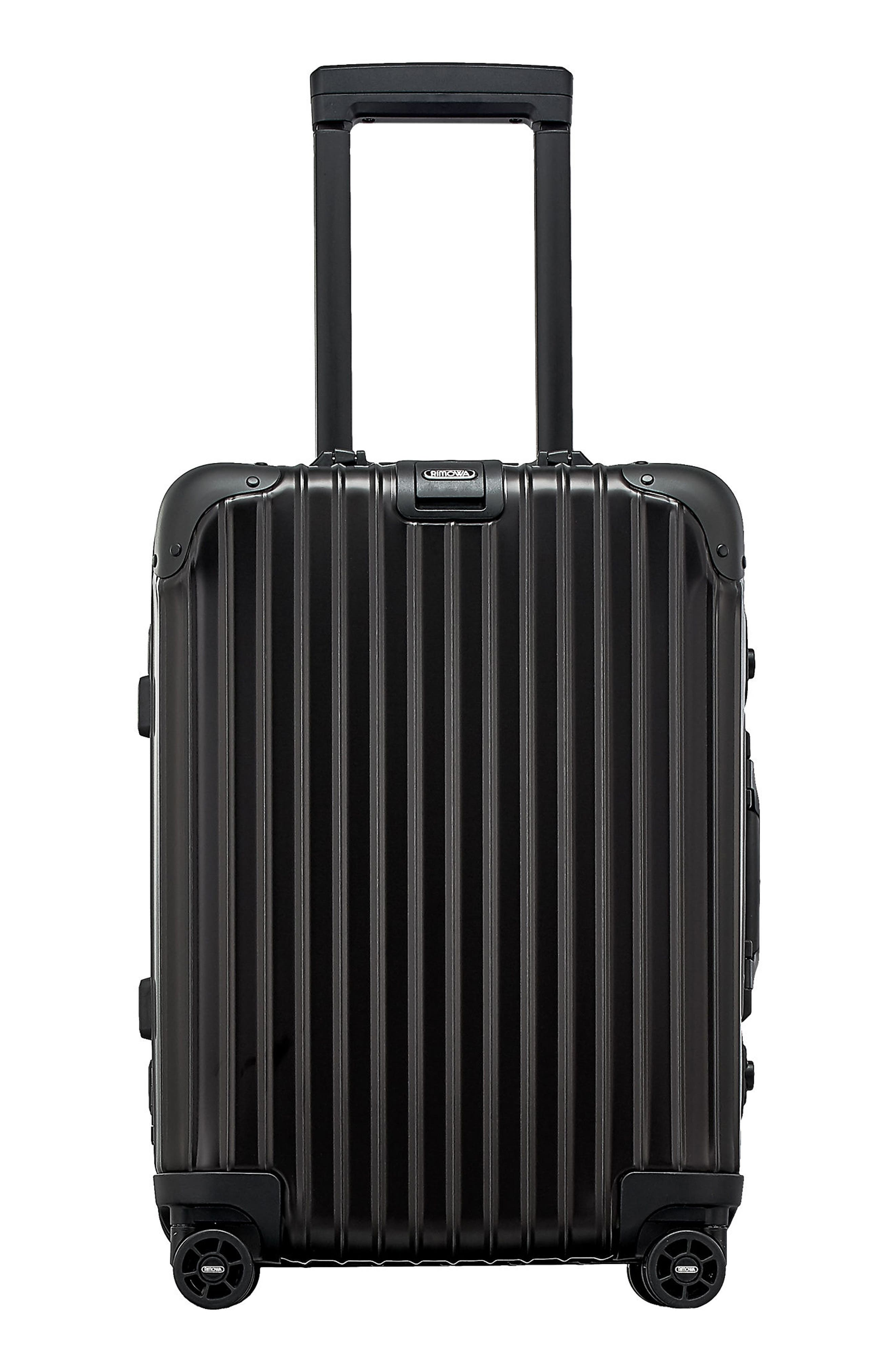 RIMOWA Topas Stealth 22-Inch Cabin Multiwheel® Aluminum Carry-On