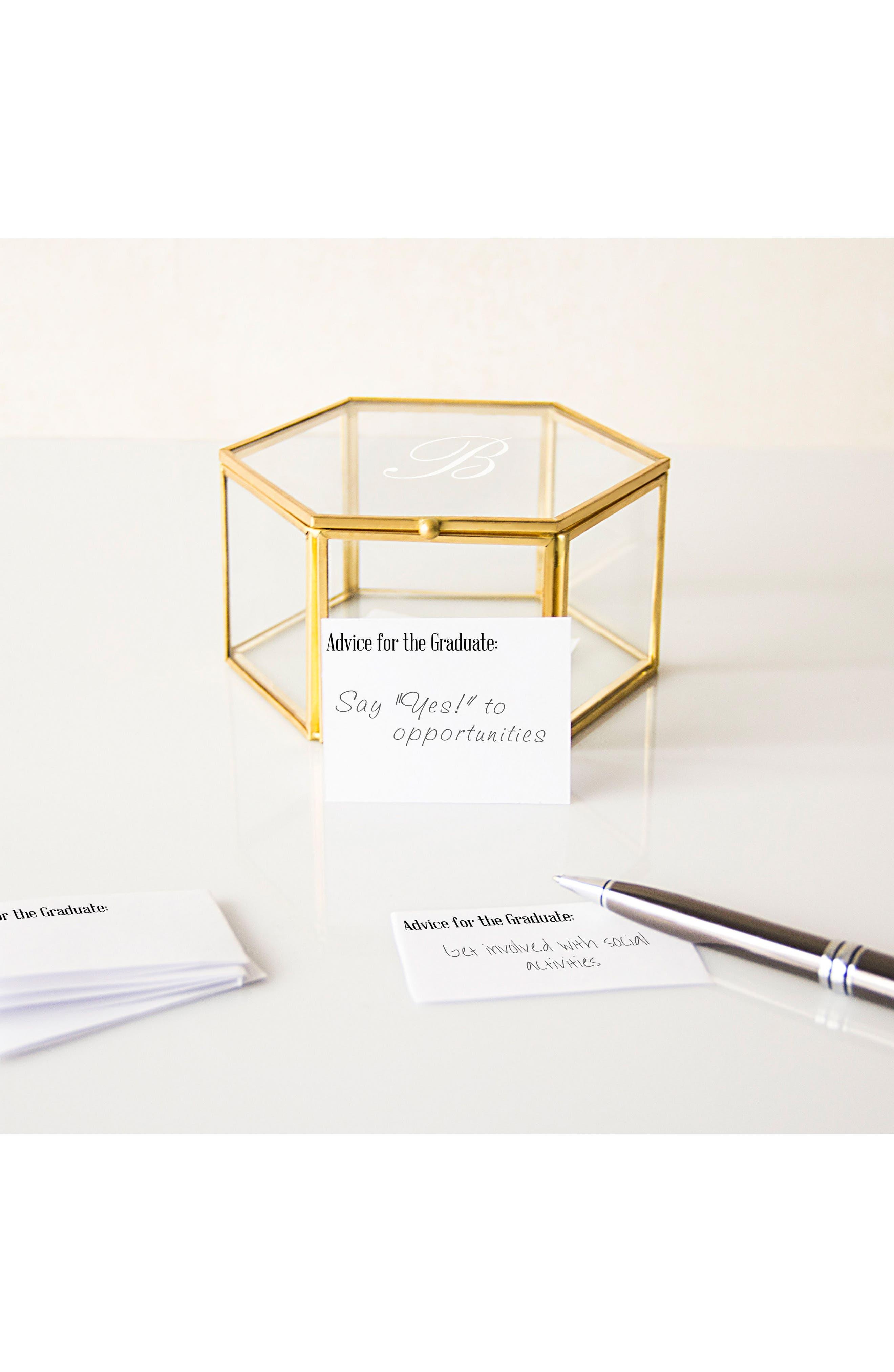 Alternate Image 5  - Cathy's Concepts Monogram Keepsake Box