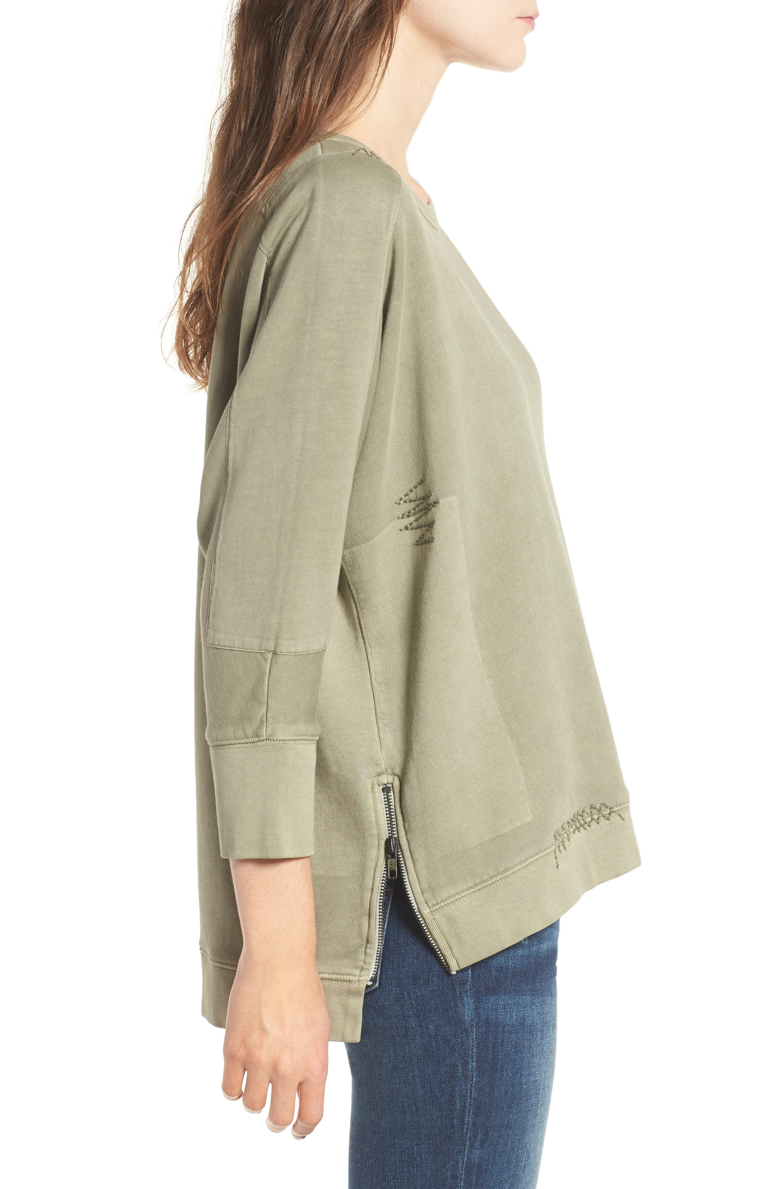 Alternate Image 3  - Zadig & Voltaire Ahina Patch Pullover