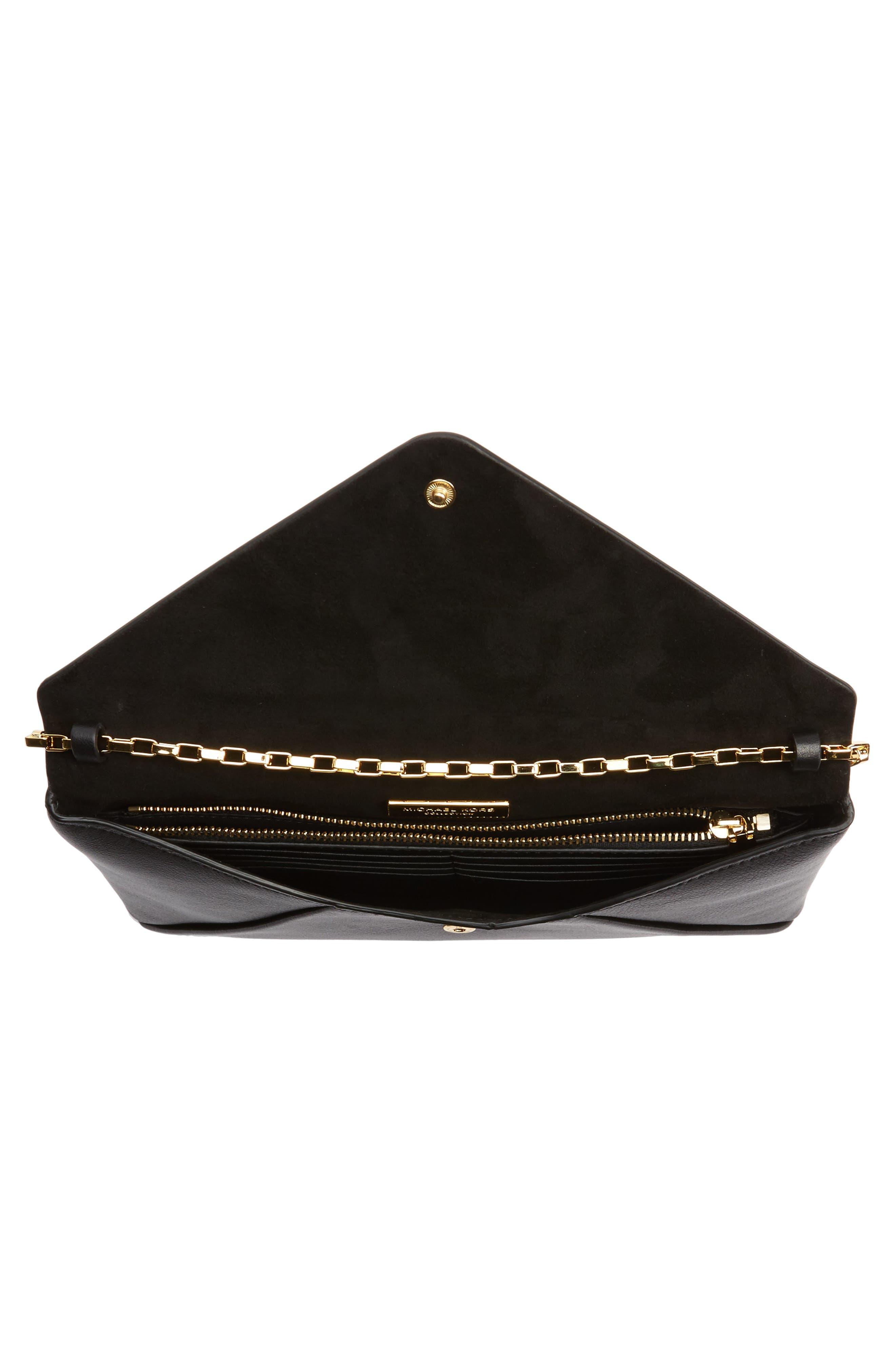 Alternate Image 3  - Michael Kors Small Calfskin Leather Envelope Clutch