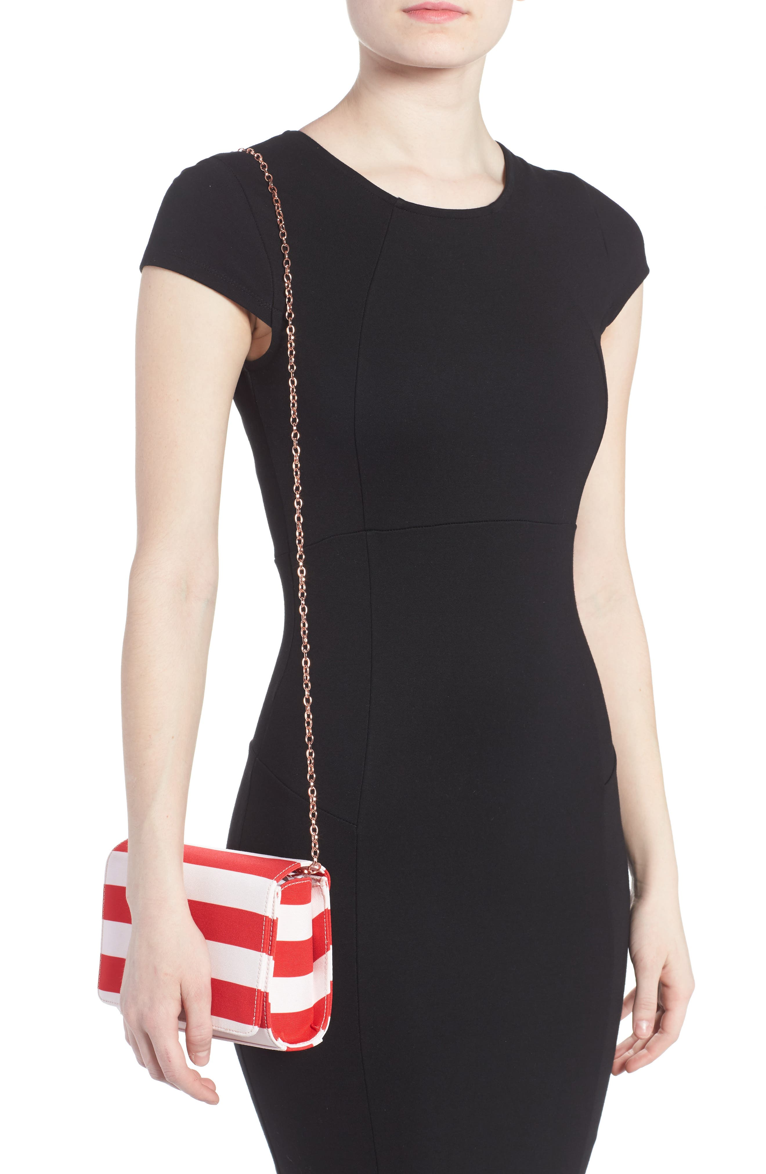 Alternate Image 2  - Ted Baker London Pier Stripe Clutch