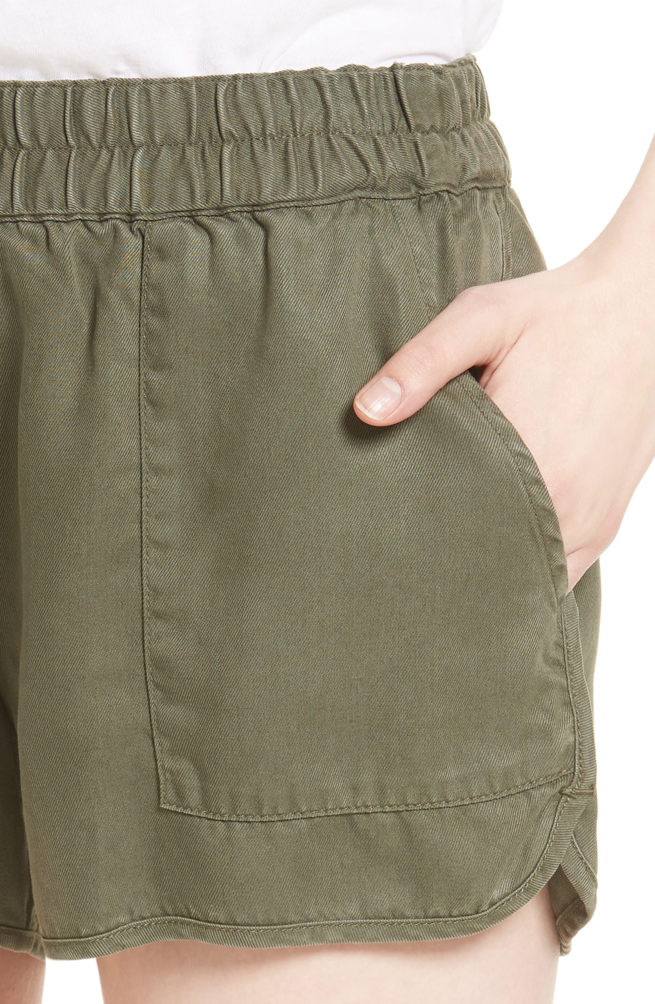 Alternate Image 4  - Soft Joie Delavina Tencel® Twill Shorts