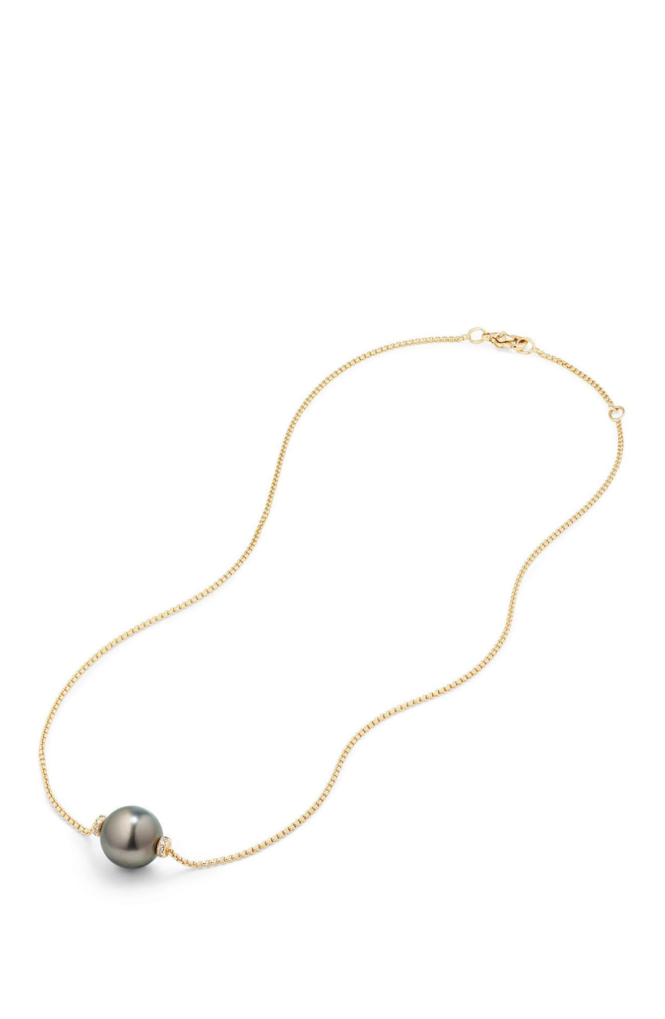 Alternate Image 3  - David Yurman Solari Pearl Station Necklace