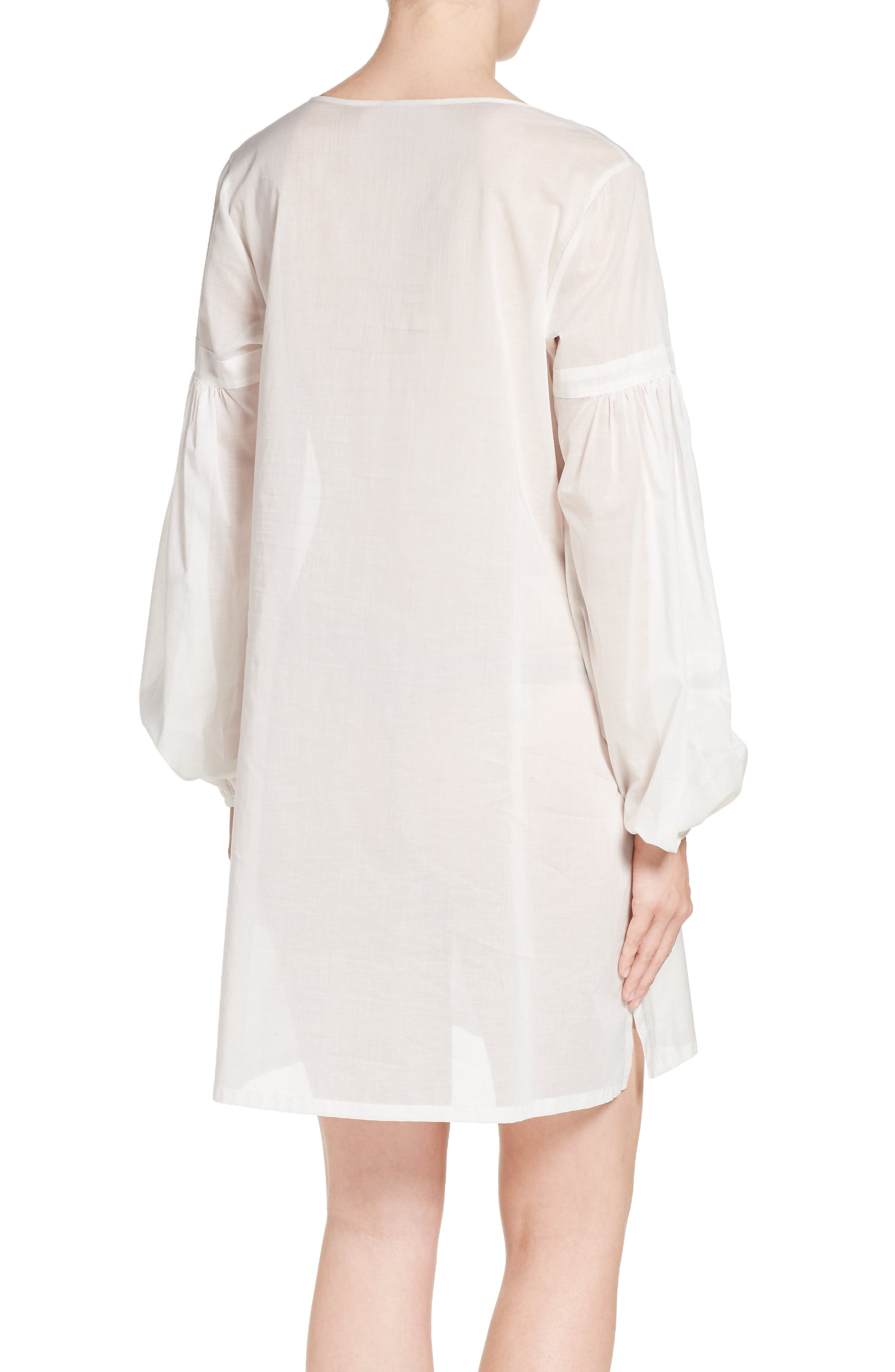 Alternate Image 2  - Natori Cebu Peasant Sleep Shirt
