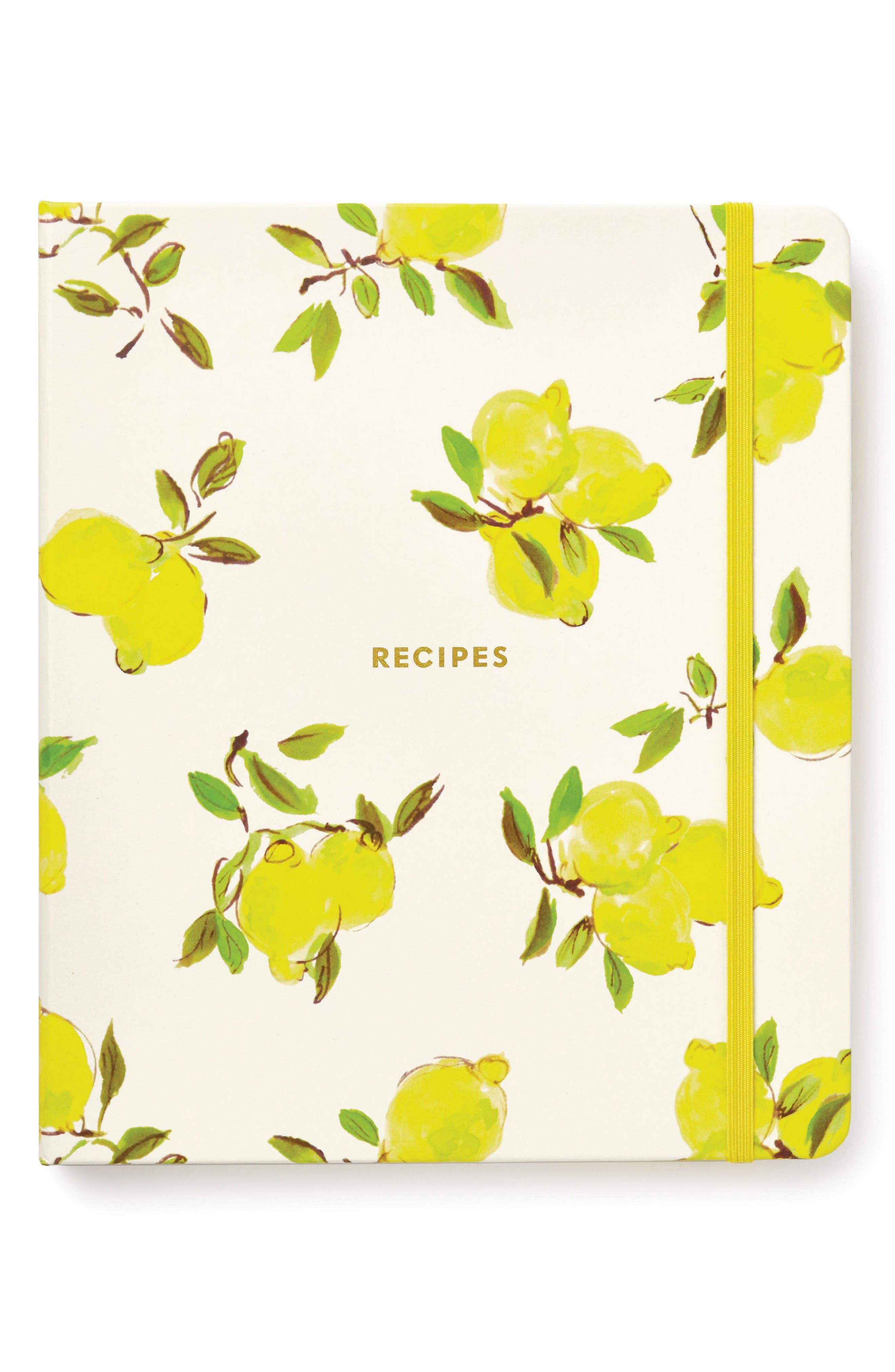 Alternate Image 1 Selected - kate spade new york lemon recipe book