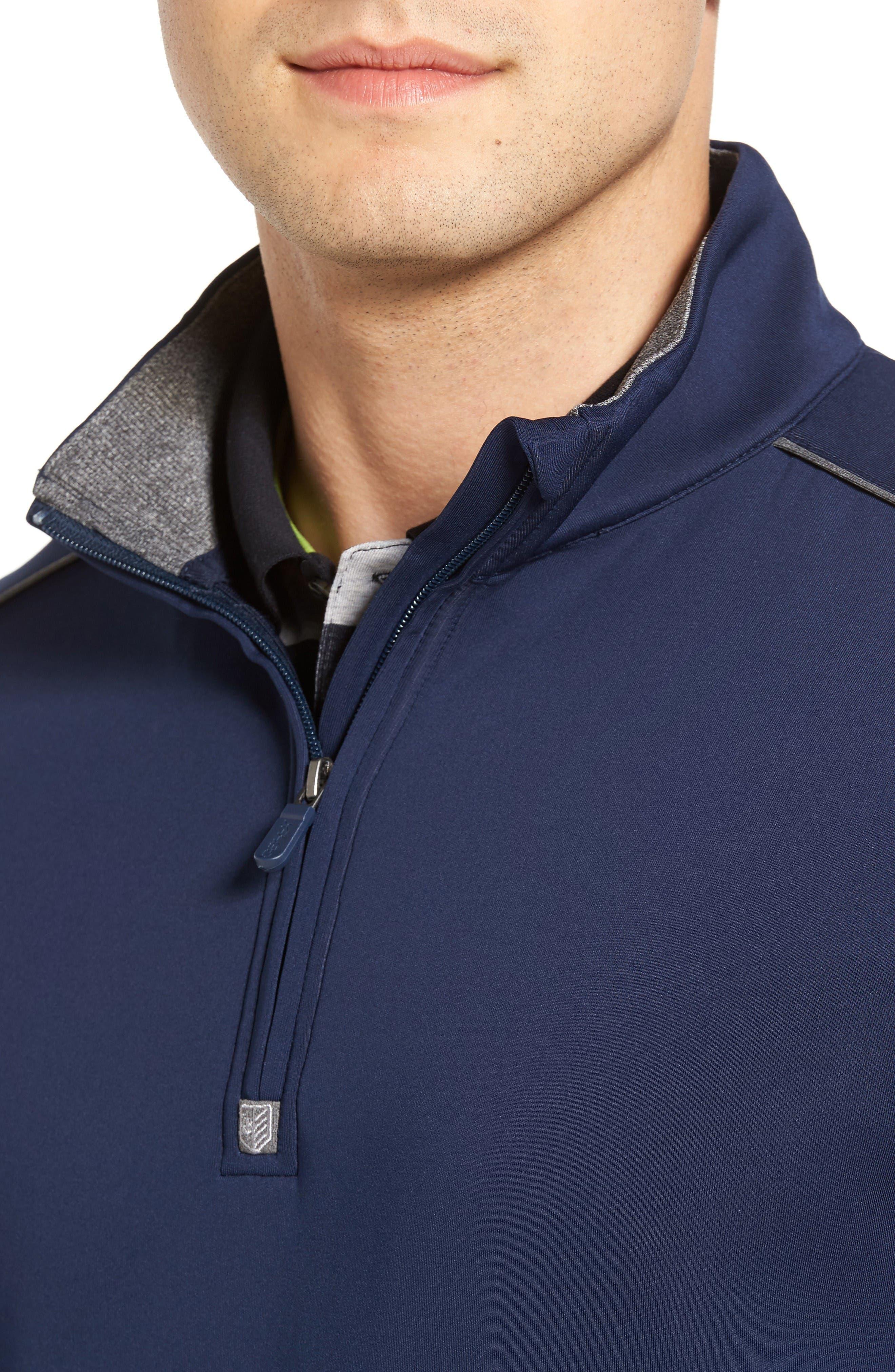 Alternate Image 4  - Bobby Jones Tech Quarter Zip Pullover
