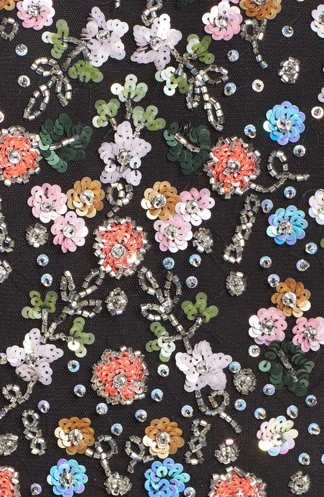 Alternate Image 5  - Needle & Thread Starburst Midi Dress