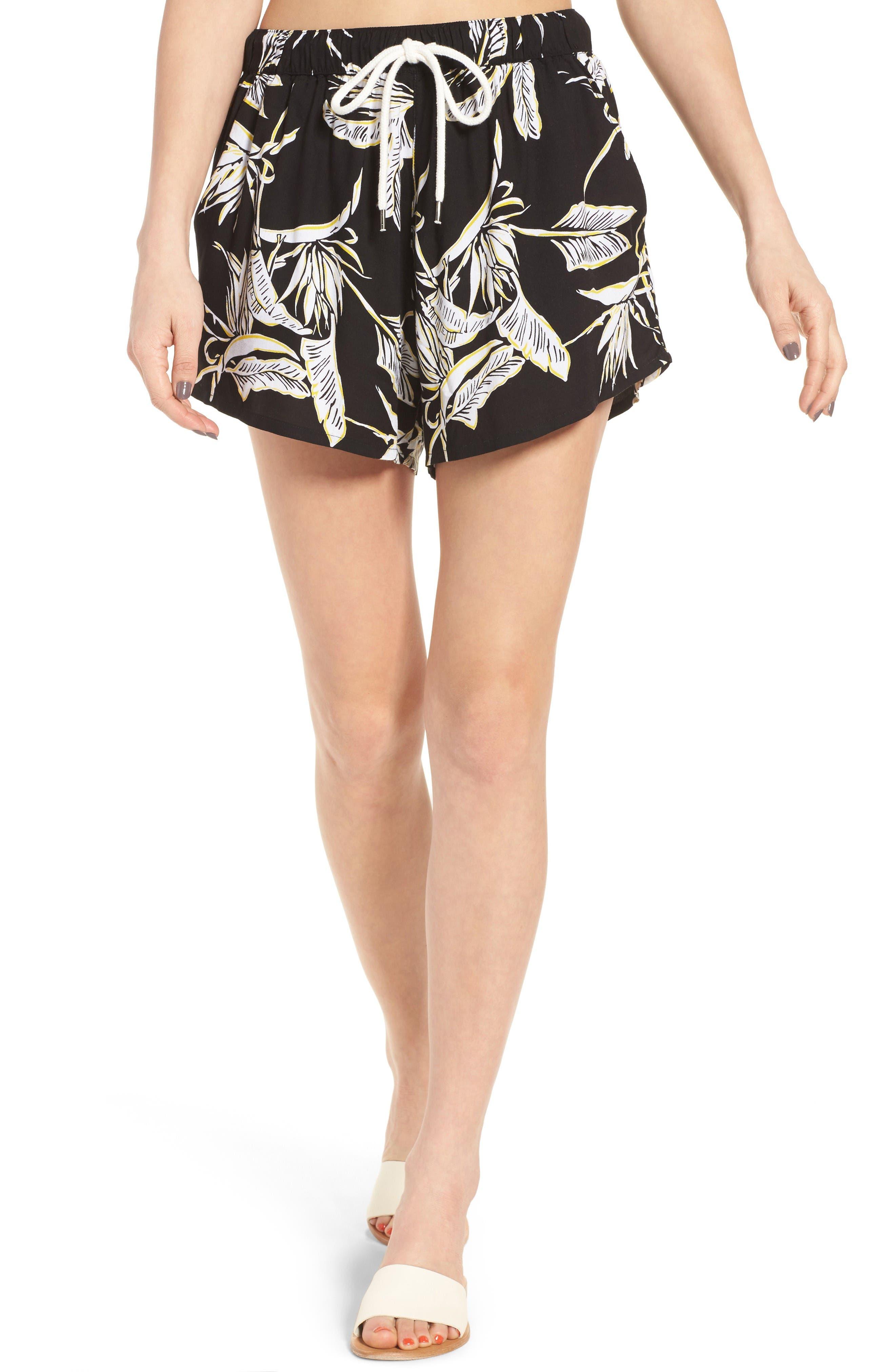 Obey Jones Print Shorts