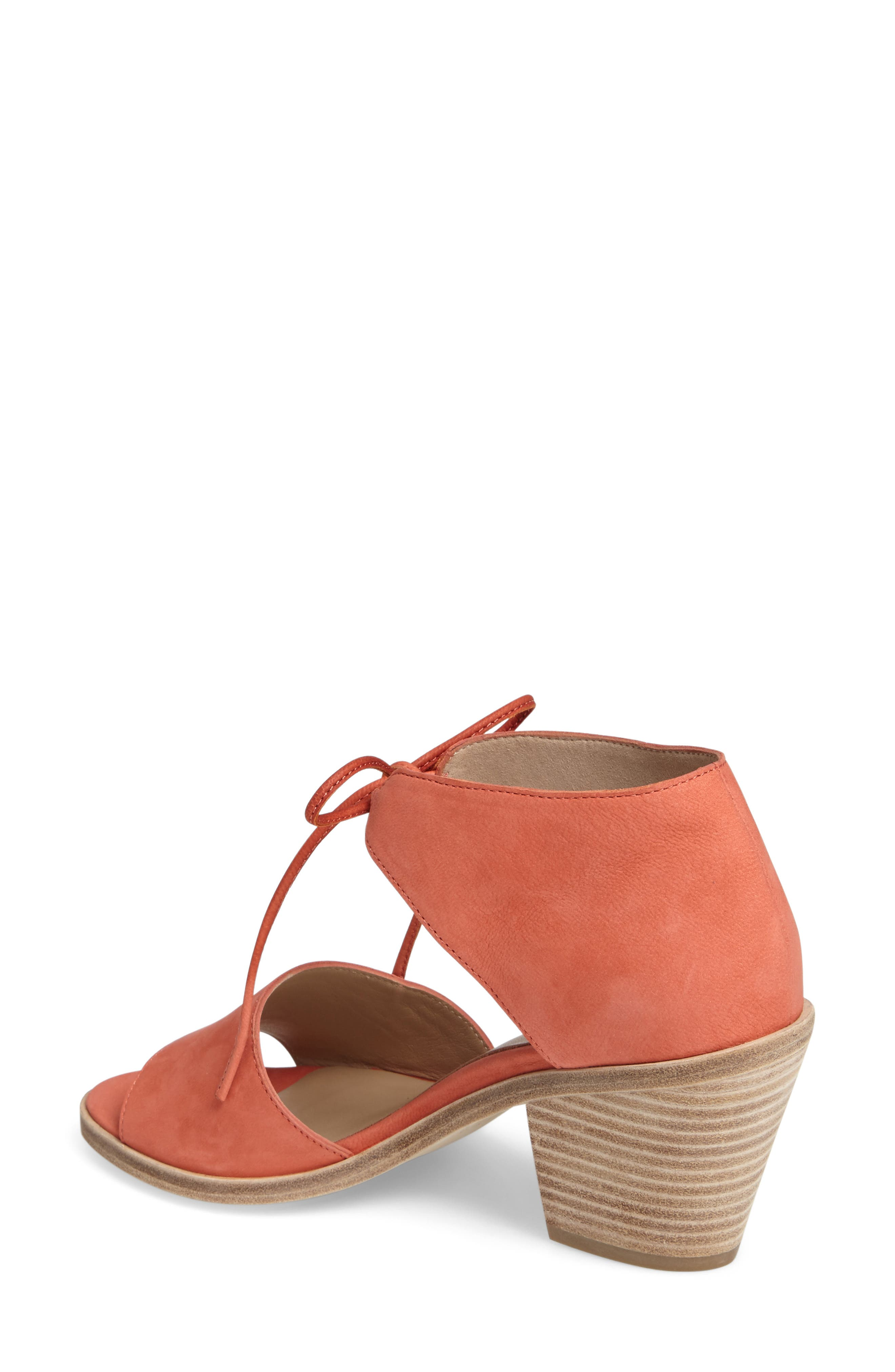 Alternate Image 2  - Eileen Fisher Ann Ankle Tie Sandal (Women)