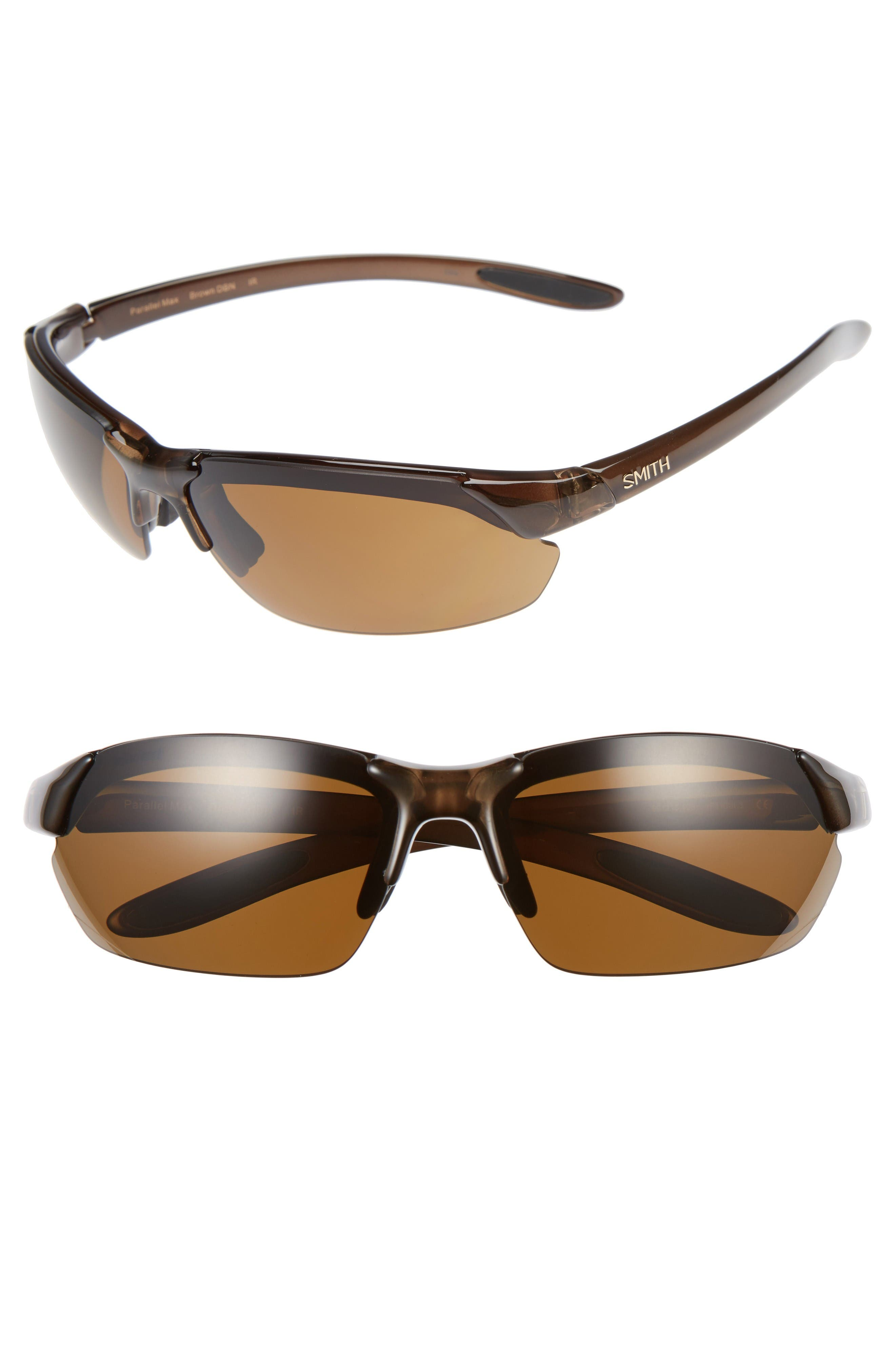 PARALLEL MAX 69MM POLARIZED SUNGLASSES - BROWN